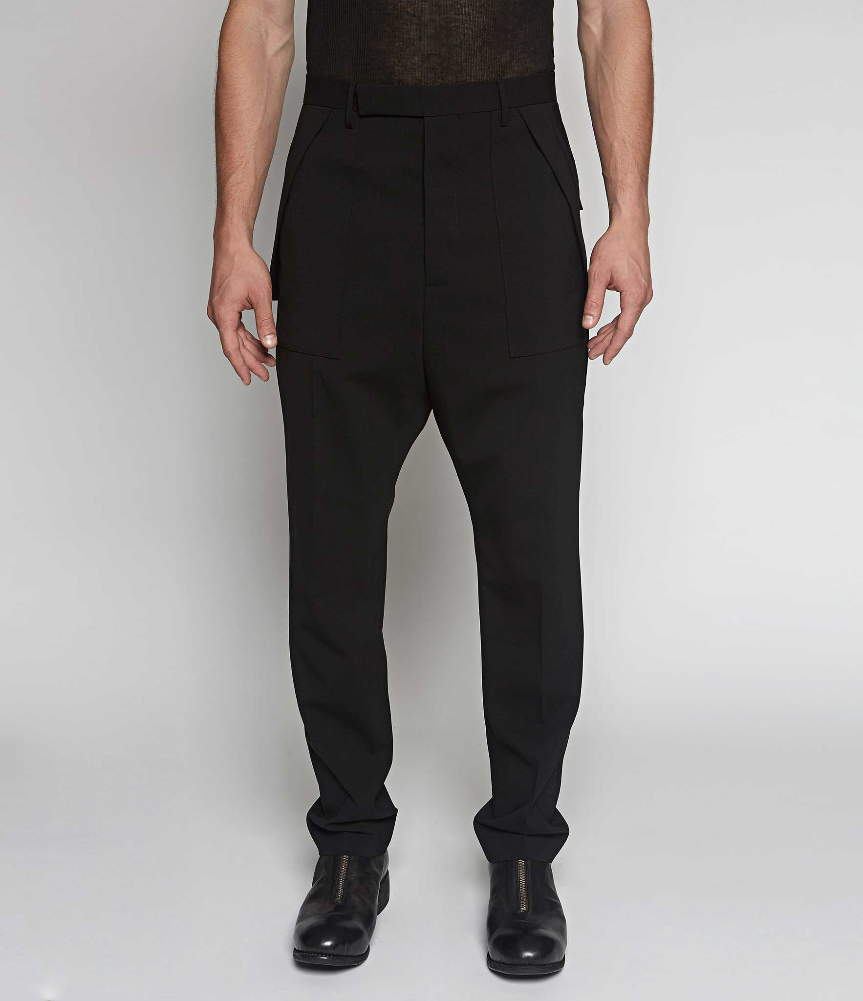 Rick Owens Tailored Cargo Trousers