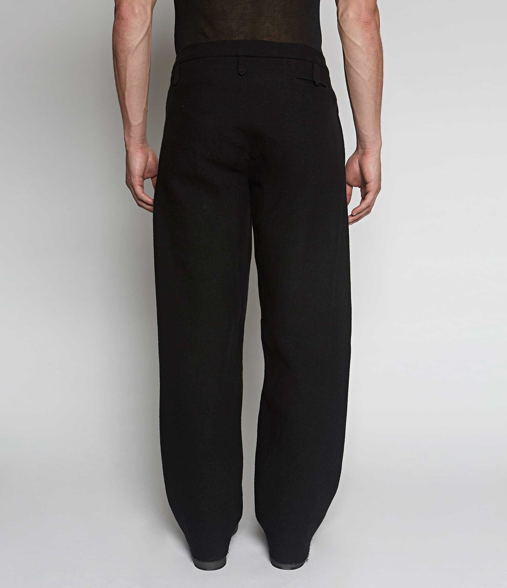 m.a+ Tuck Pocket Wide Leg Trousers