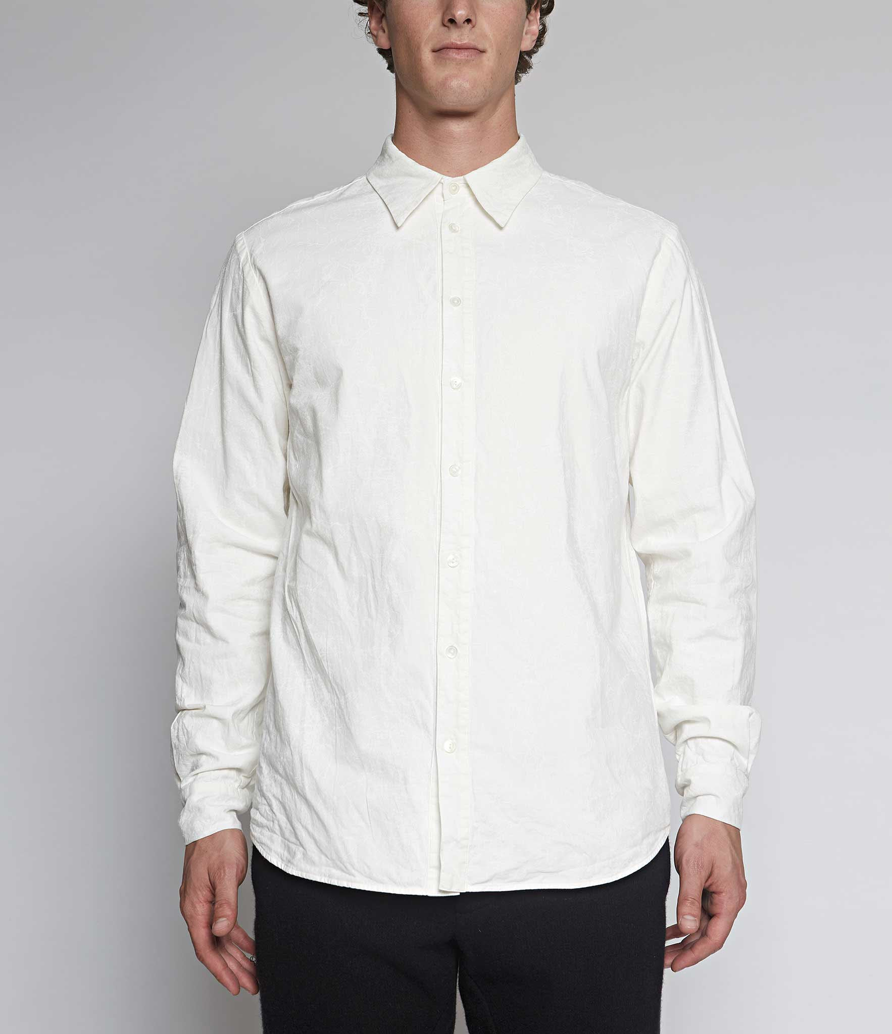 Forme d'Expression Juxtaposed Layered Shirt