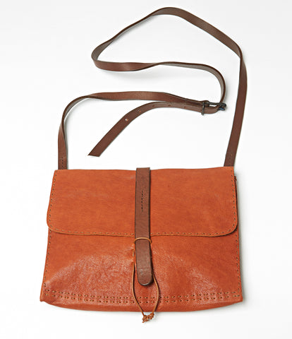 Sierra Leone Large Leather Bag