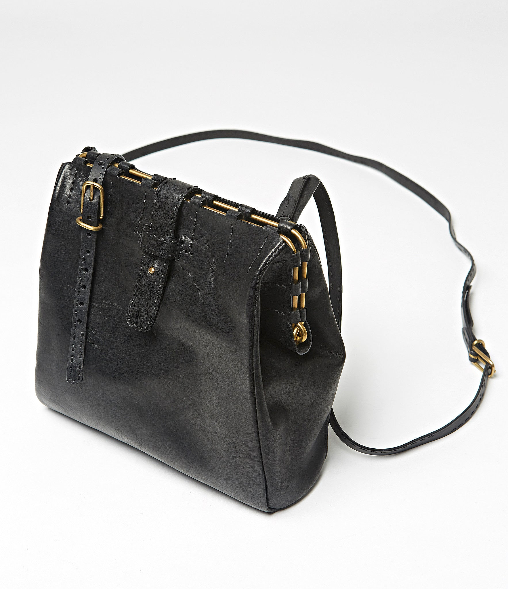 Malabo Simple Leather Bag