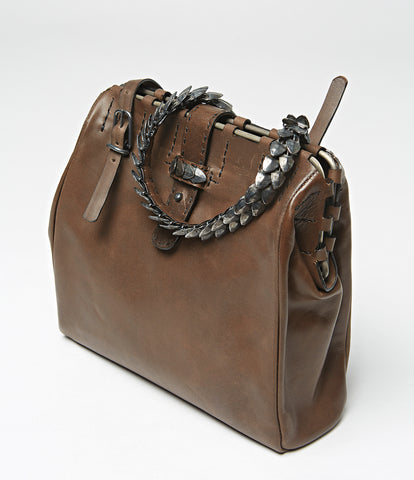 Malabo Scale Leather Bag