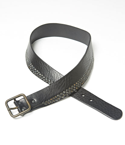 Bi Stud Leather Belt