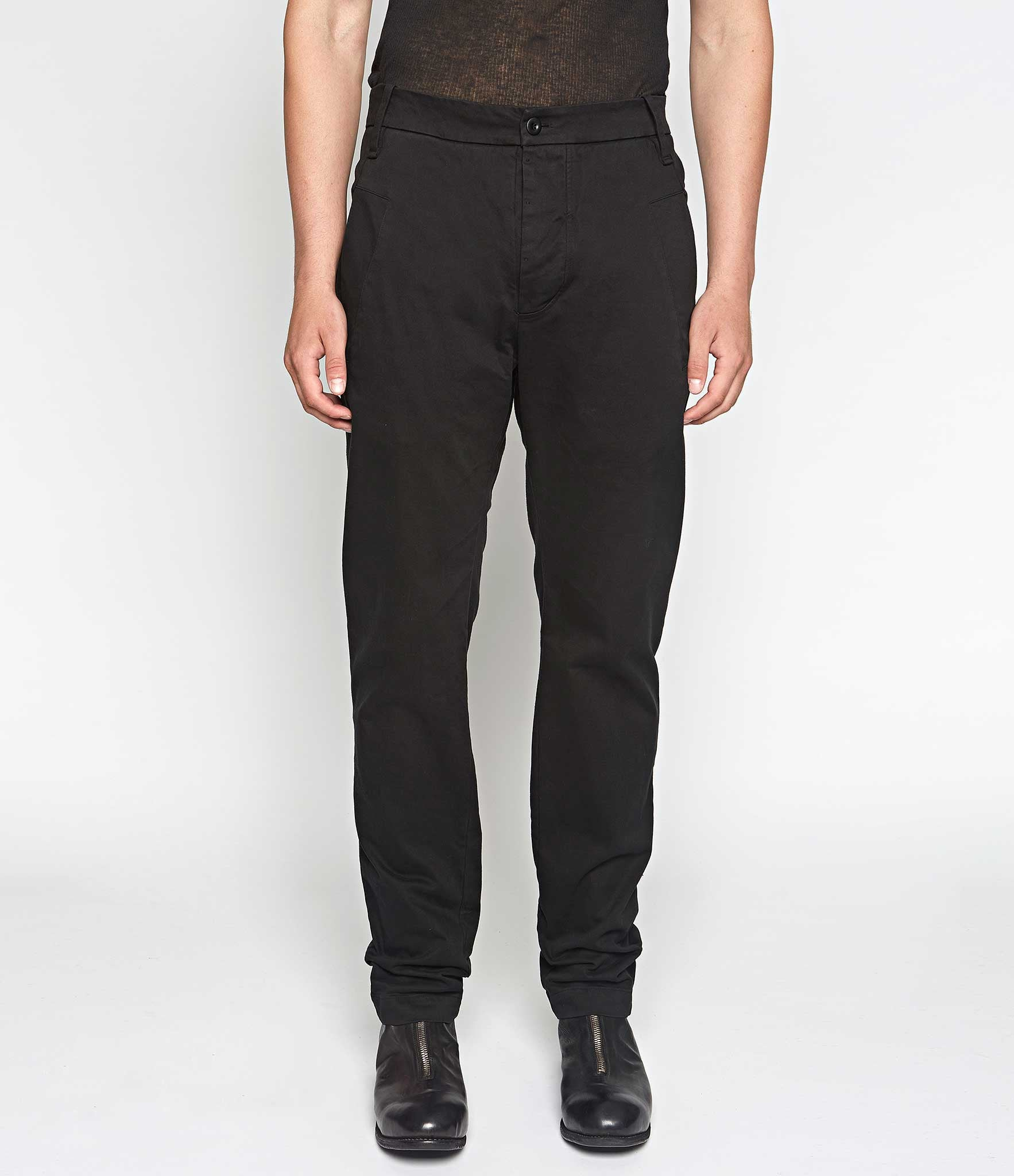 Lost & Found Rooms Slim Black Cotton Stretch Pants