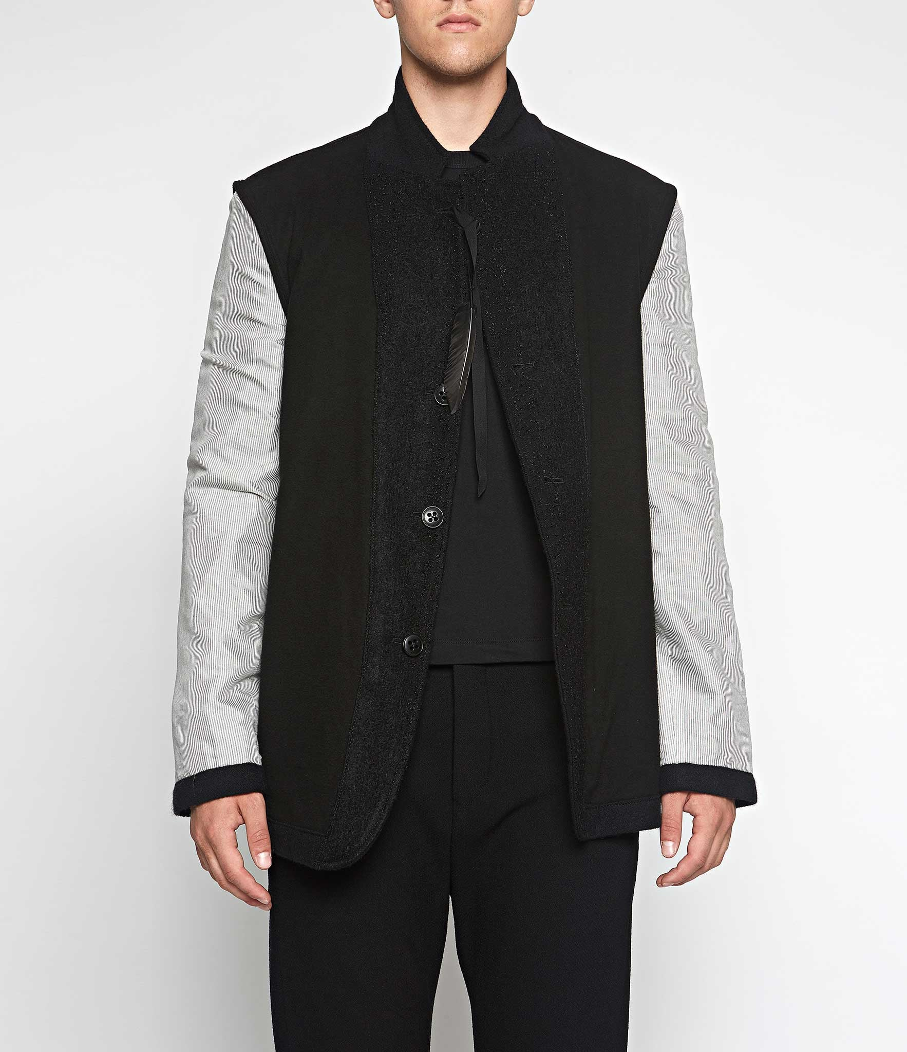 Ann Demeulemeester Reversible Rocking Jacket