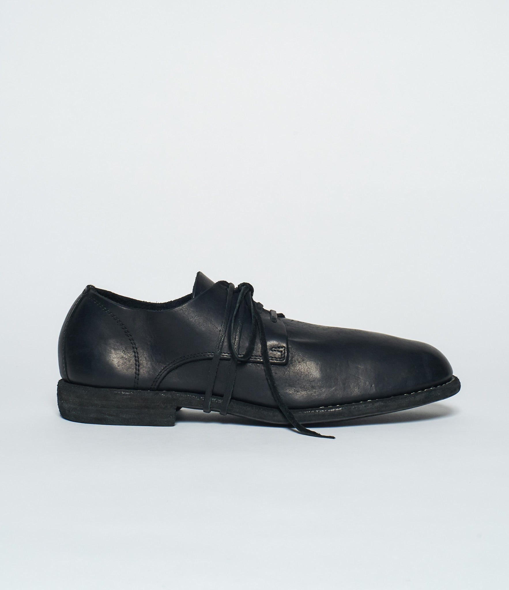 Guidi 992MS Black Calf Full Grain Derby
