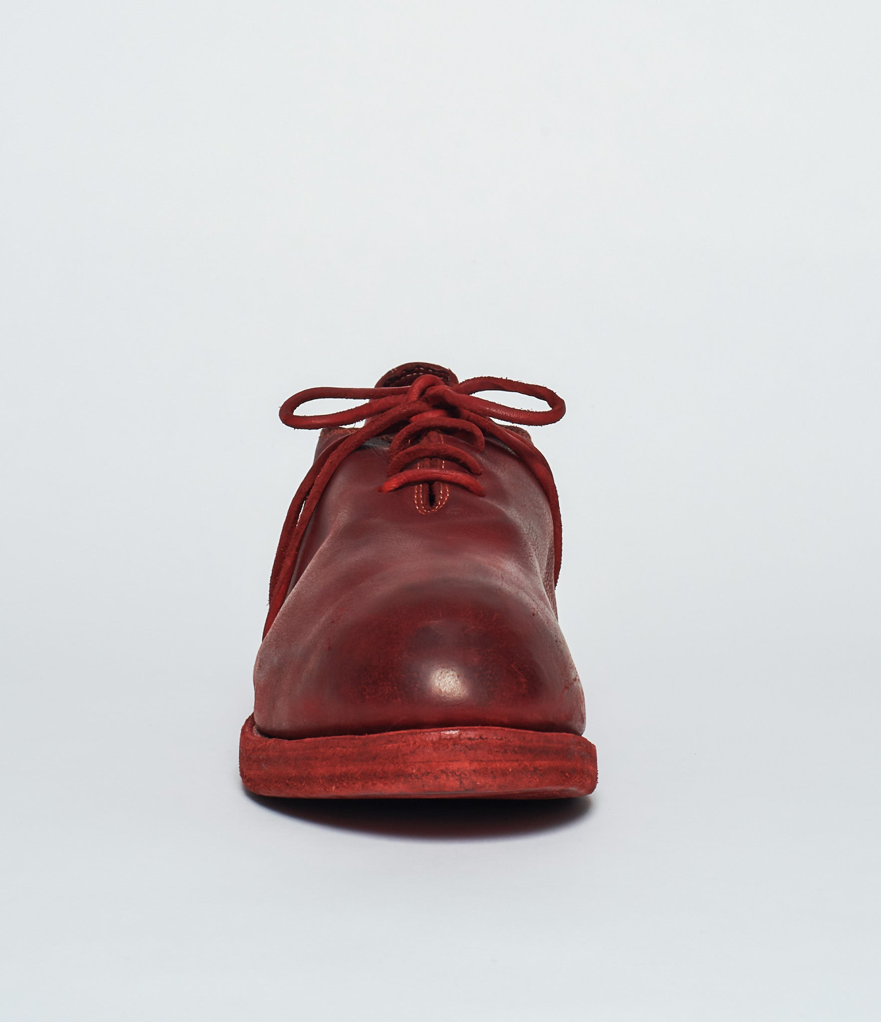 Guidi NT01Z Red Baby Buffalo Full Grain Uni Derby