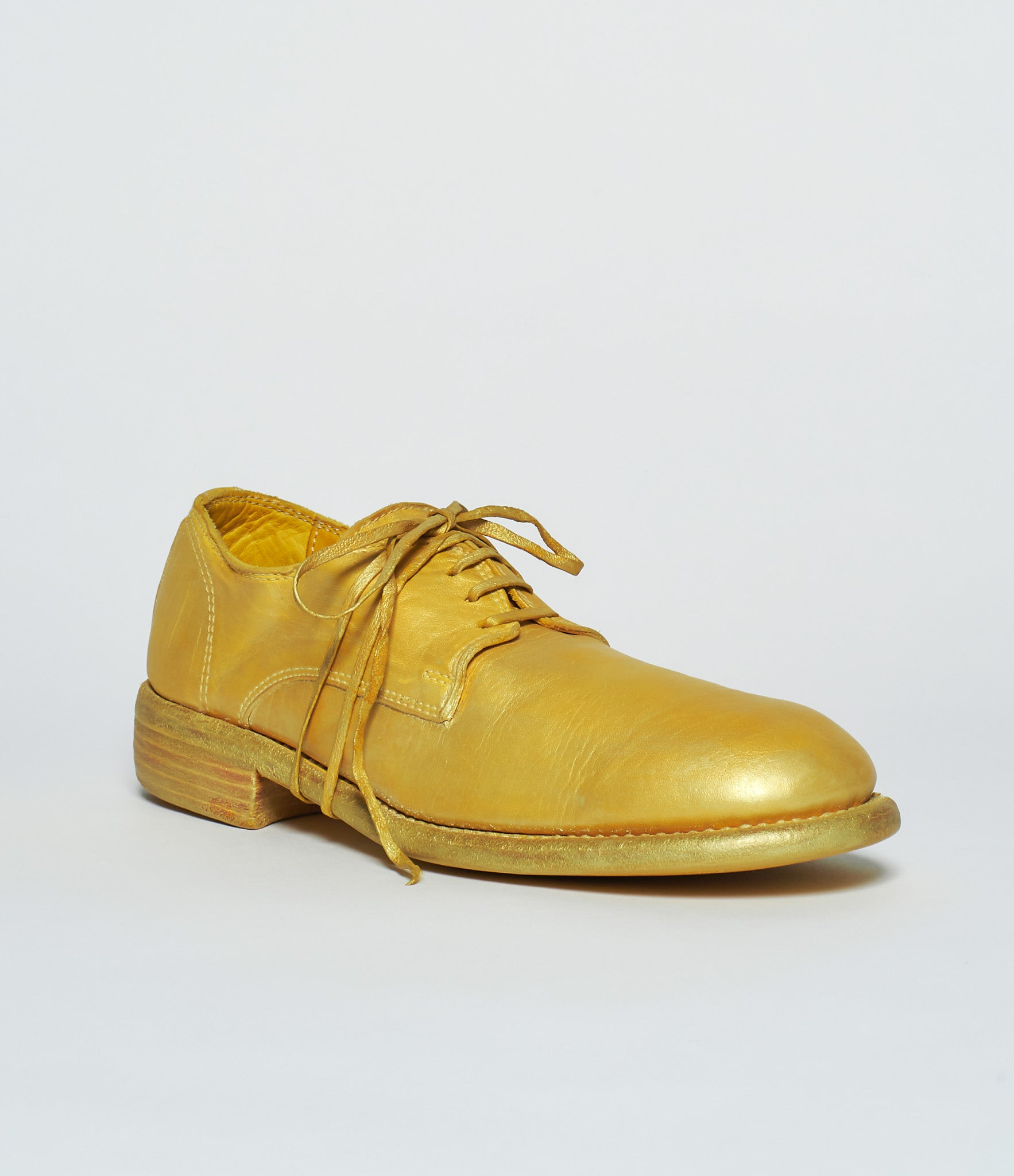 Guidi 992 IF SoHo Exclusive Gold Soft Horse Full Grain Derby