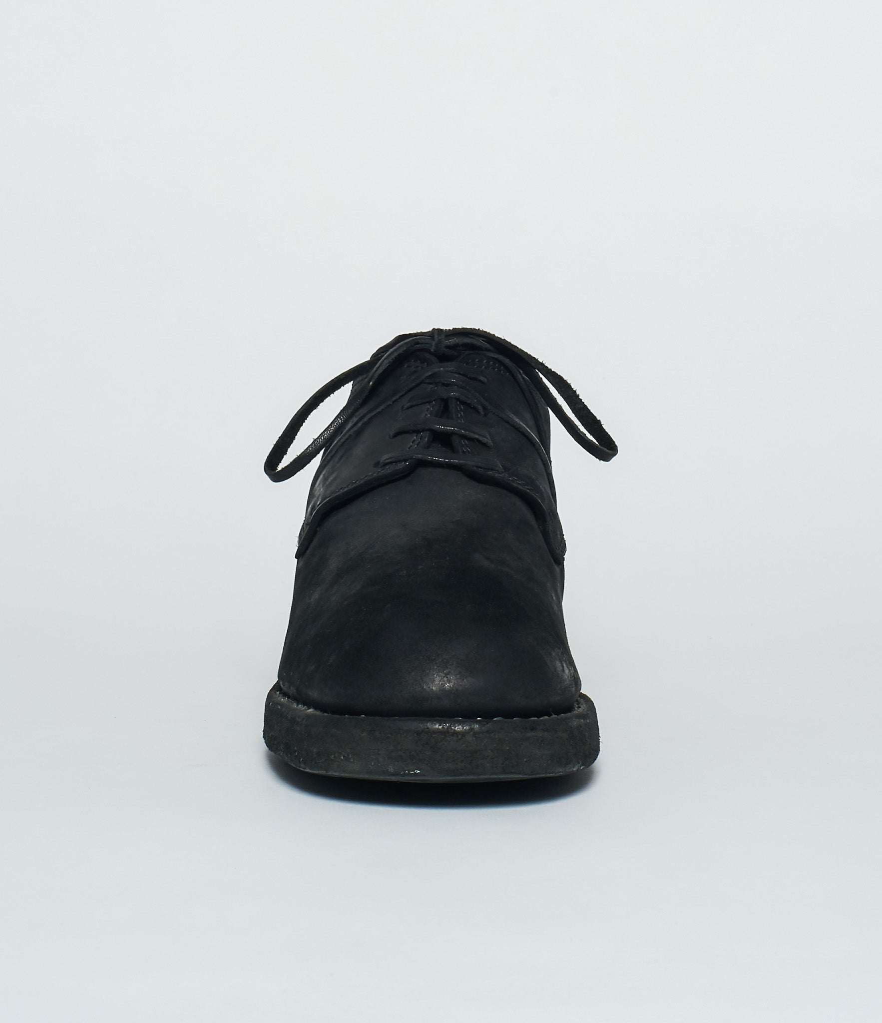 Guidi 792Z Black Cordovan Contrario Stacked Derby