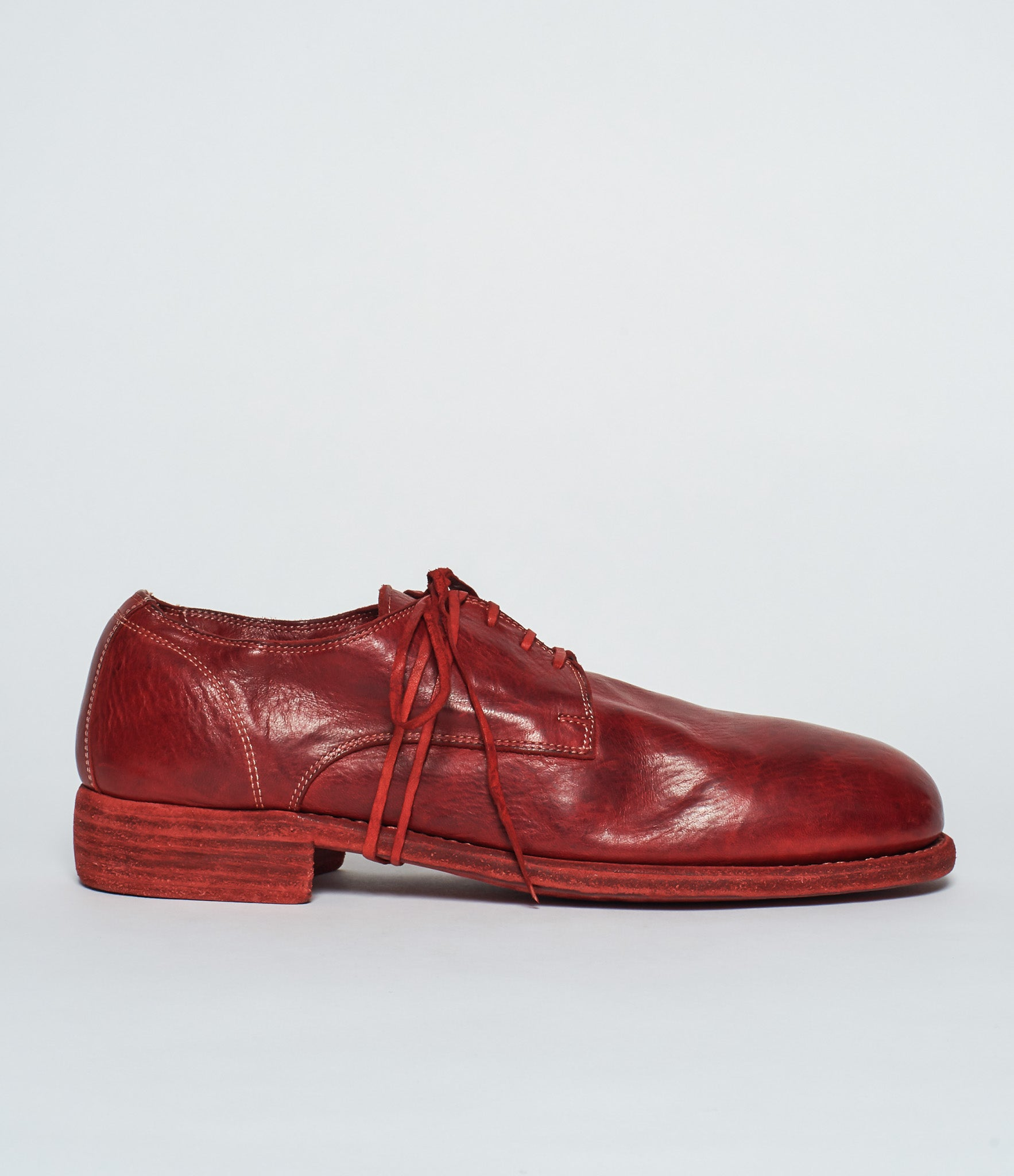 Guidi 992 Red Horse Full Grain Derby
