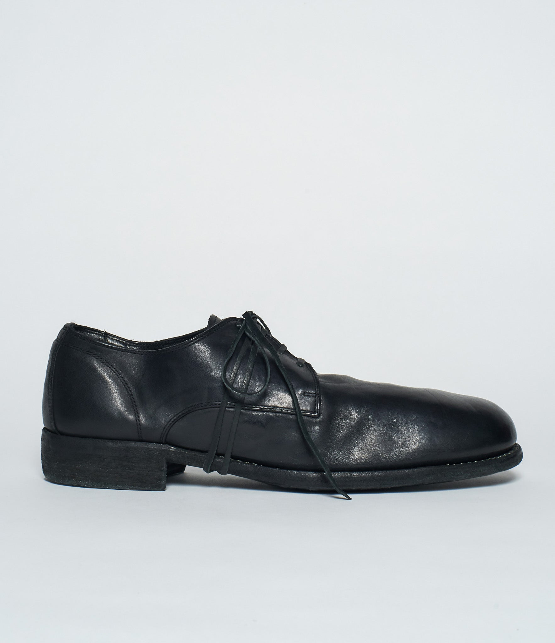 Guidi 992 Black Horse Full Grain Derby