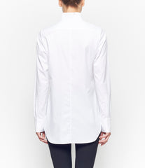 Marc Le Bihan Stitched Folds Tonal Stripe Shirt