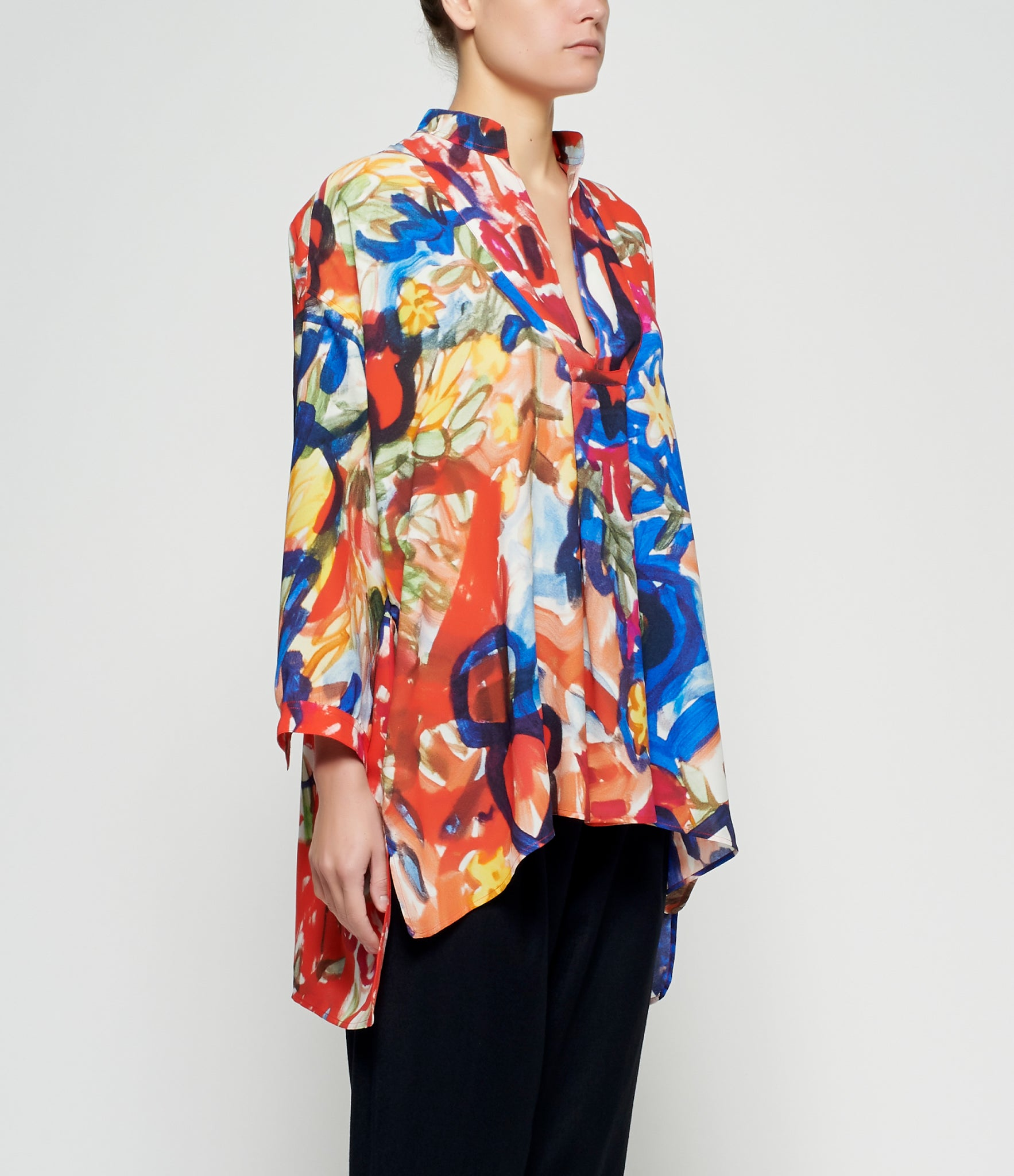Daniela Gregis Tree Drawing Long Sleeve Shirt Top
