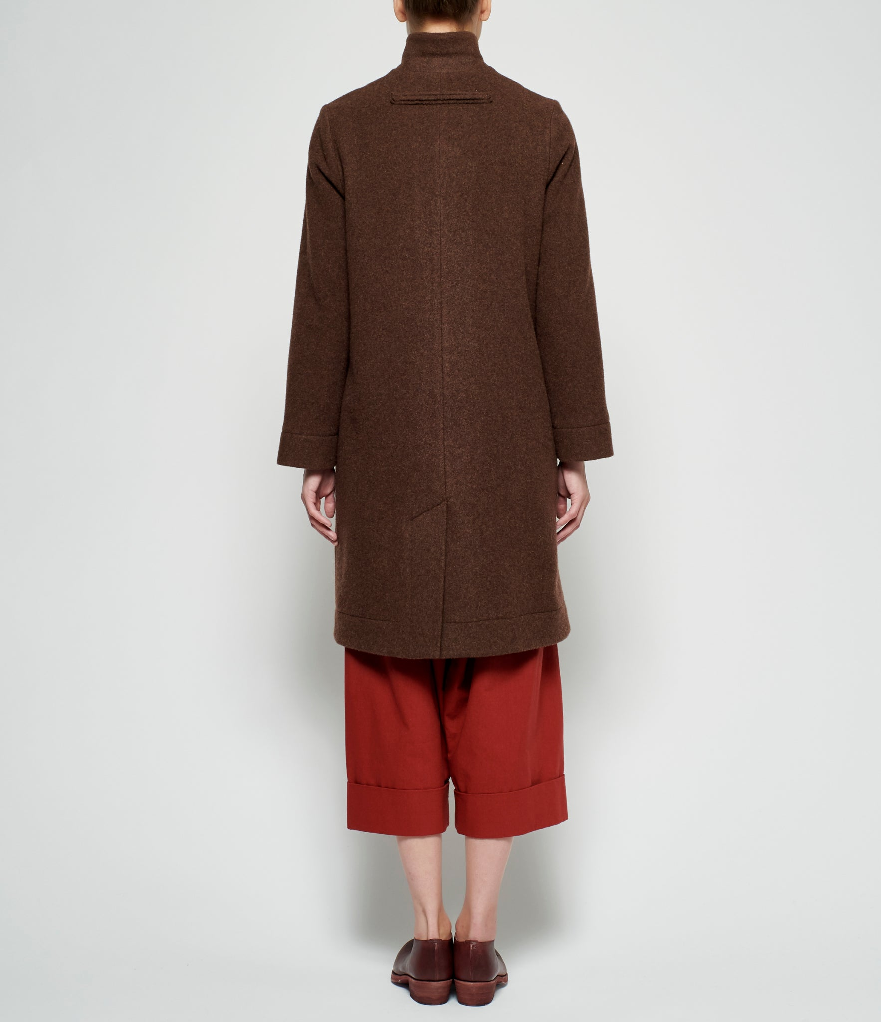 Toogood Soft Lambswool Photographer Coat