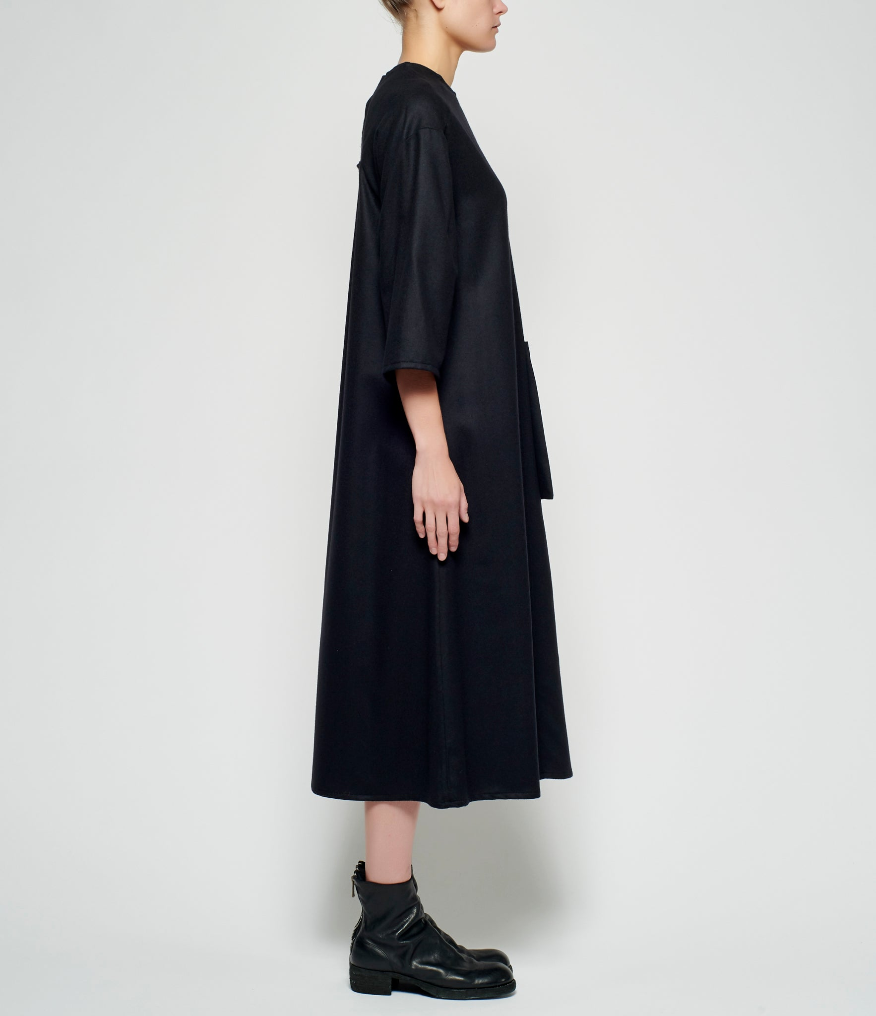 Toogood Wool Cashmere Flannel Fencer Dress