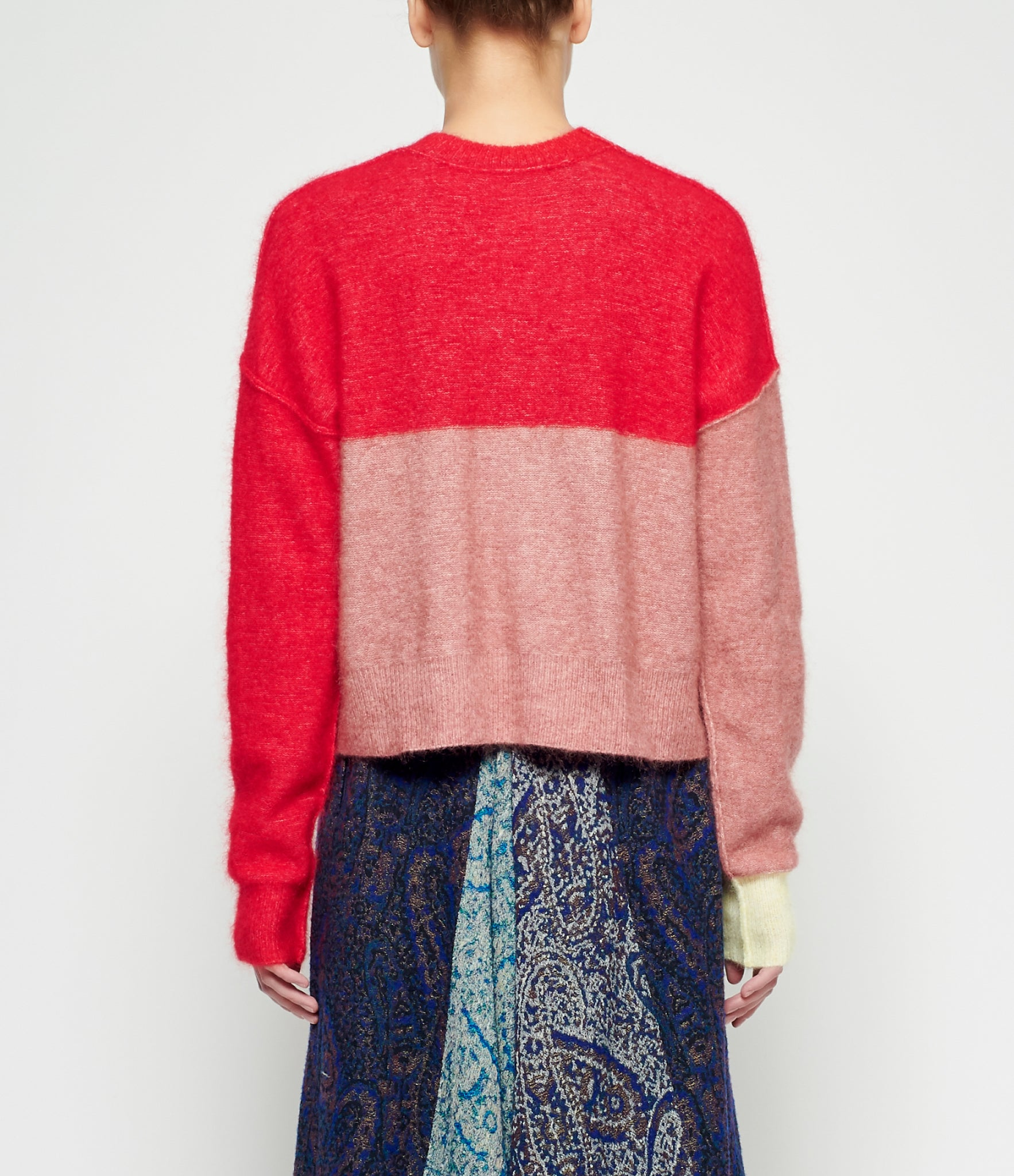 Y's Mohair Knit Sweater