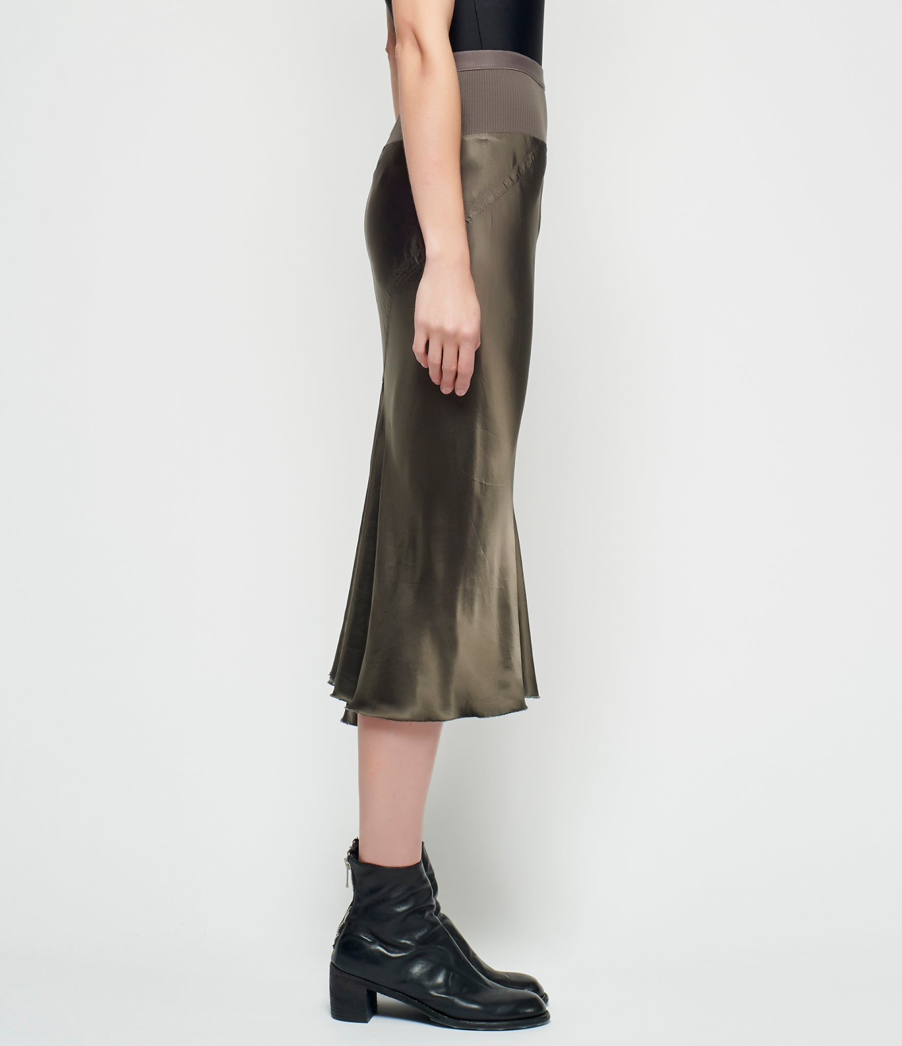 Rick Owens Losanna Knee Length Skirt
