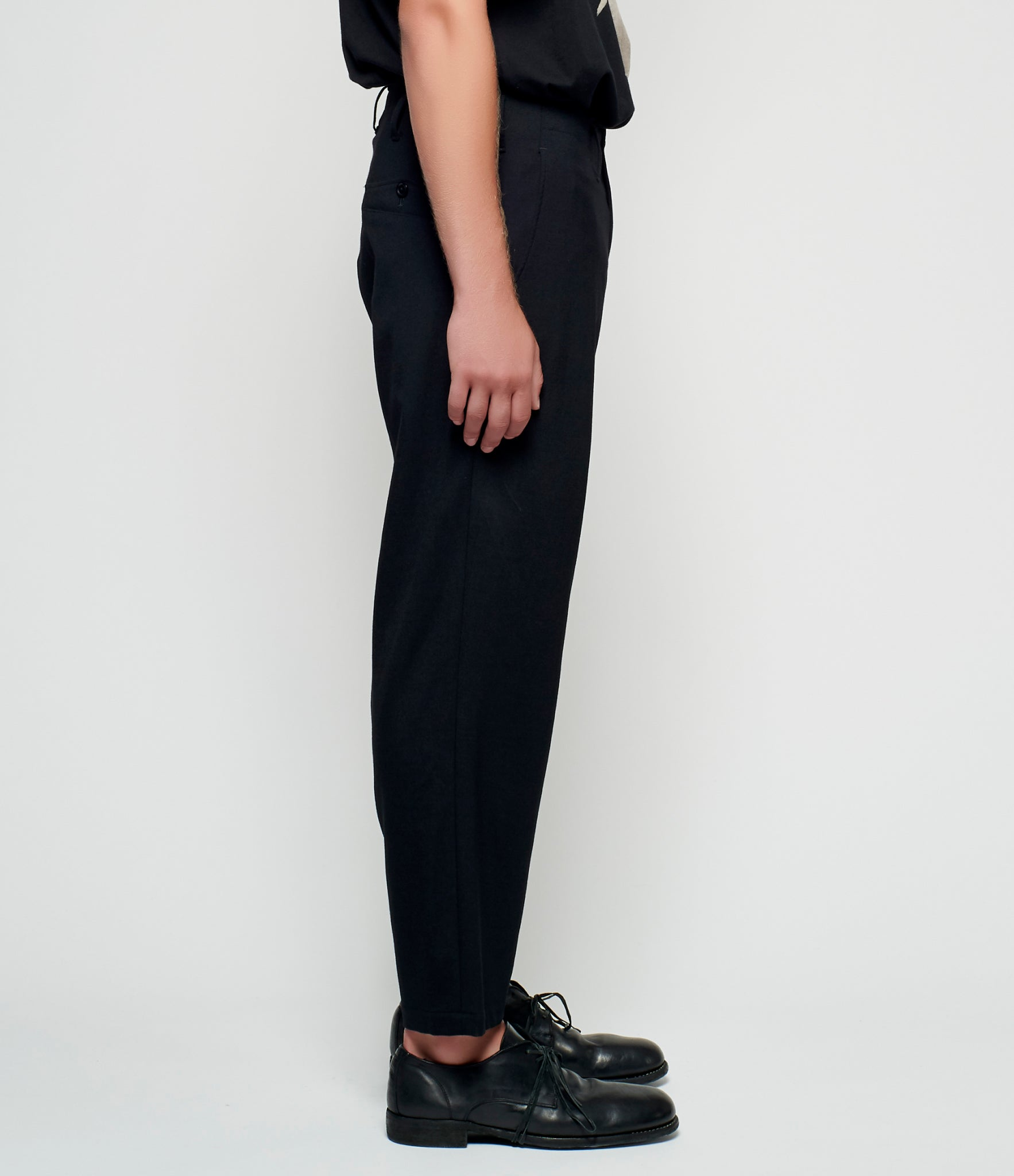 Yohji Yamamoto Integrated Left Zip Pocket Pants