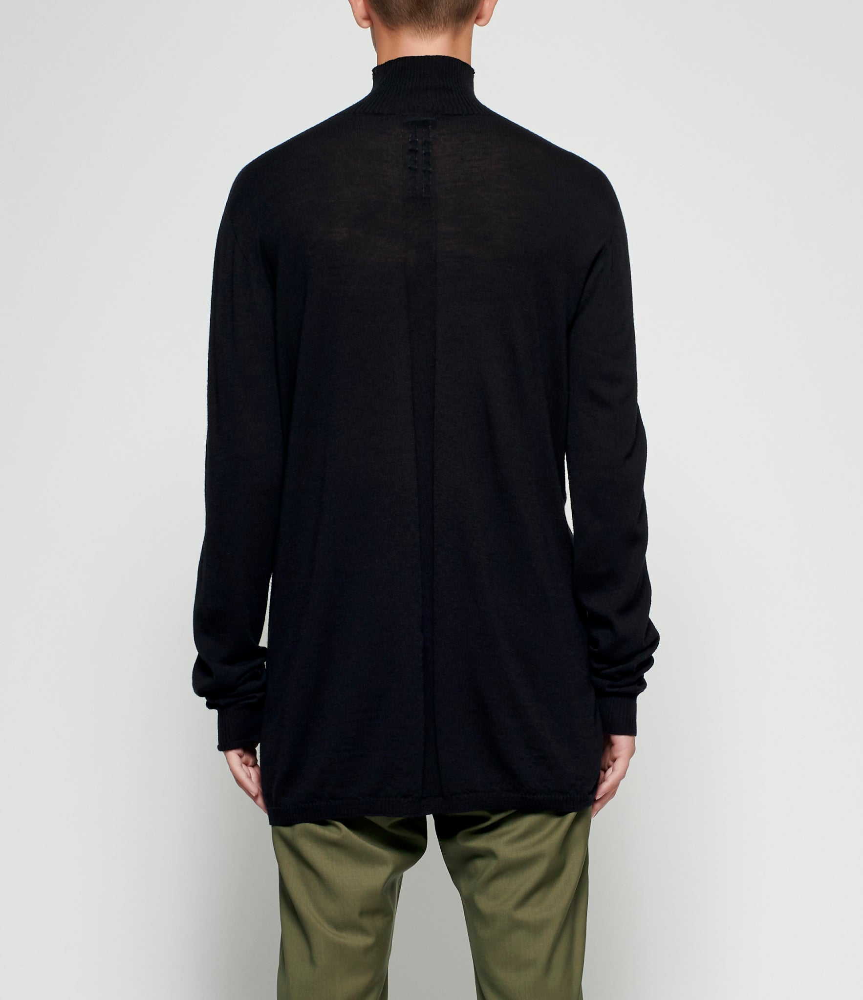 Rick Owens Oversized Turtleneck Sweater