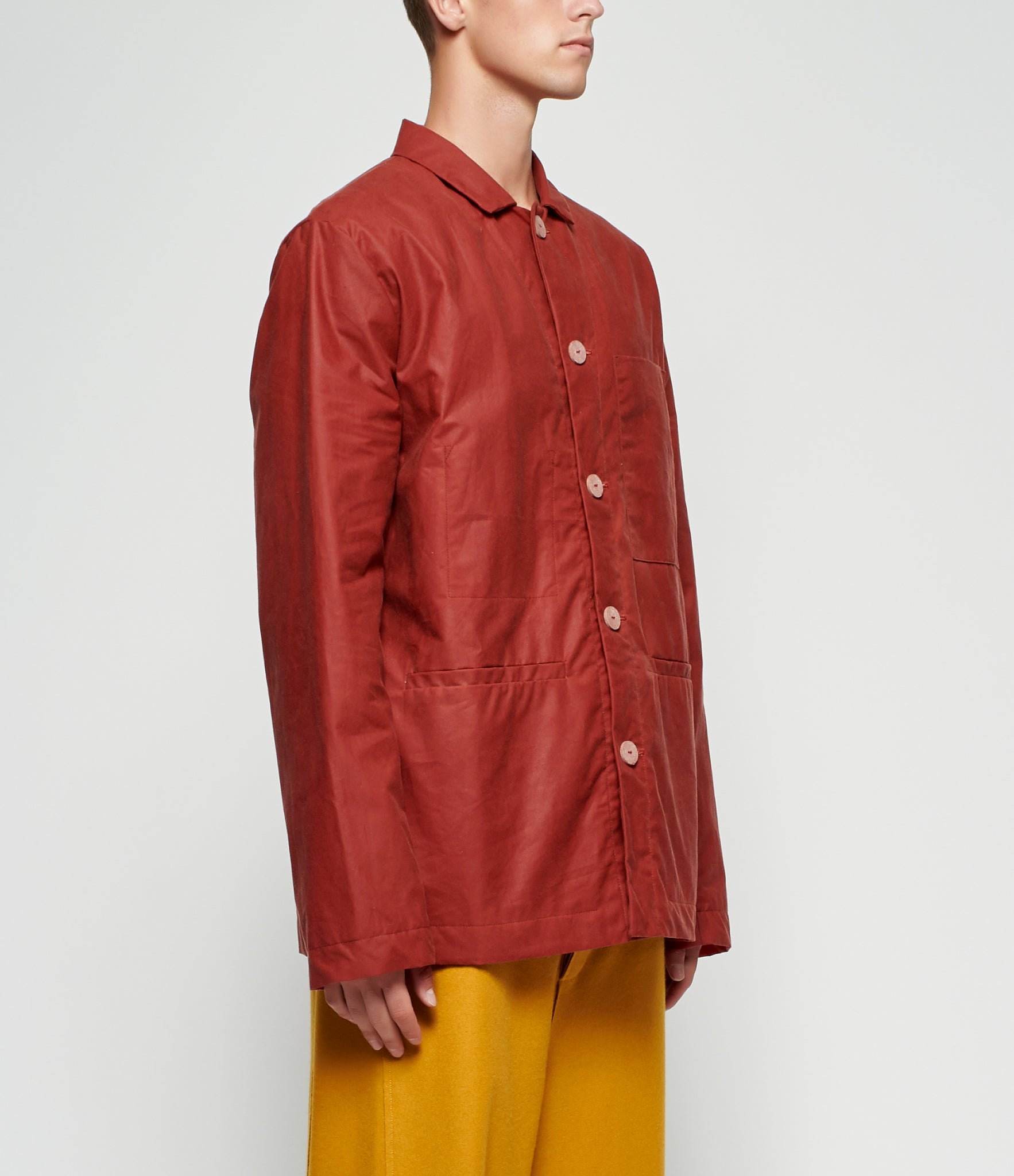Toogood Dyed Waxed Cotton Carpenter Jacket