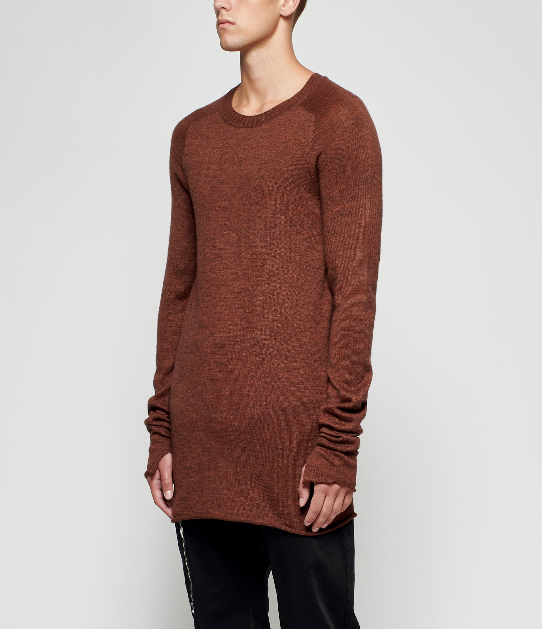 Lost & Found Rooms Merino Wool Blend Sweater
