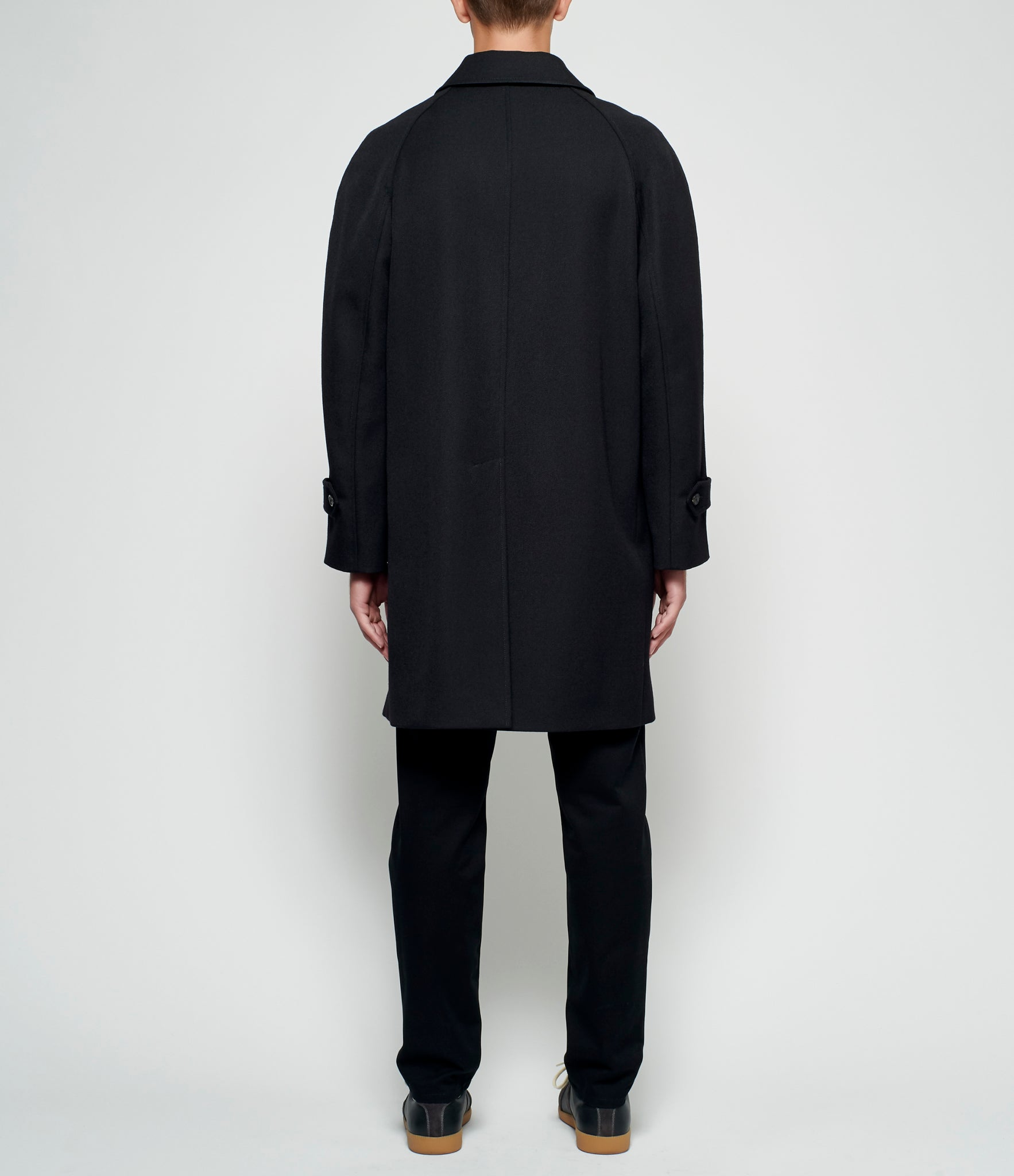Maison Margiela Wool Cavalry Trench Coat