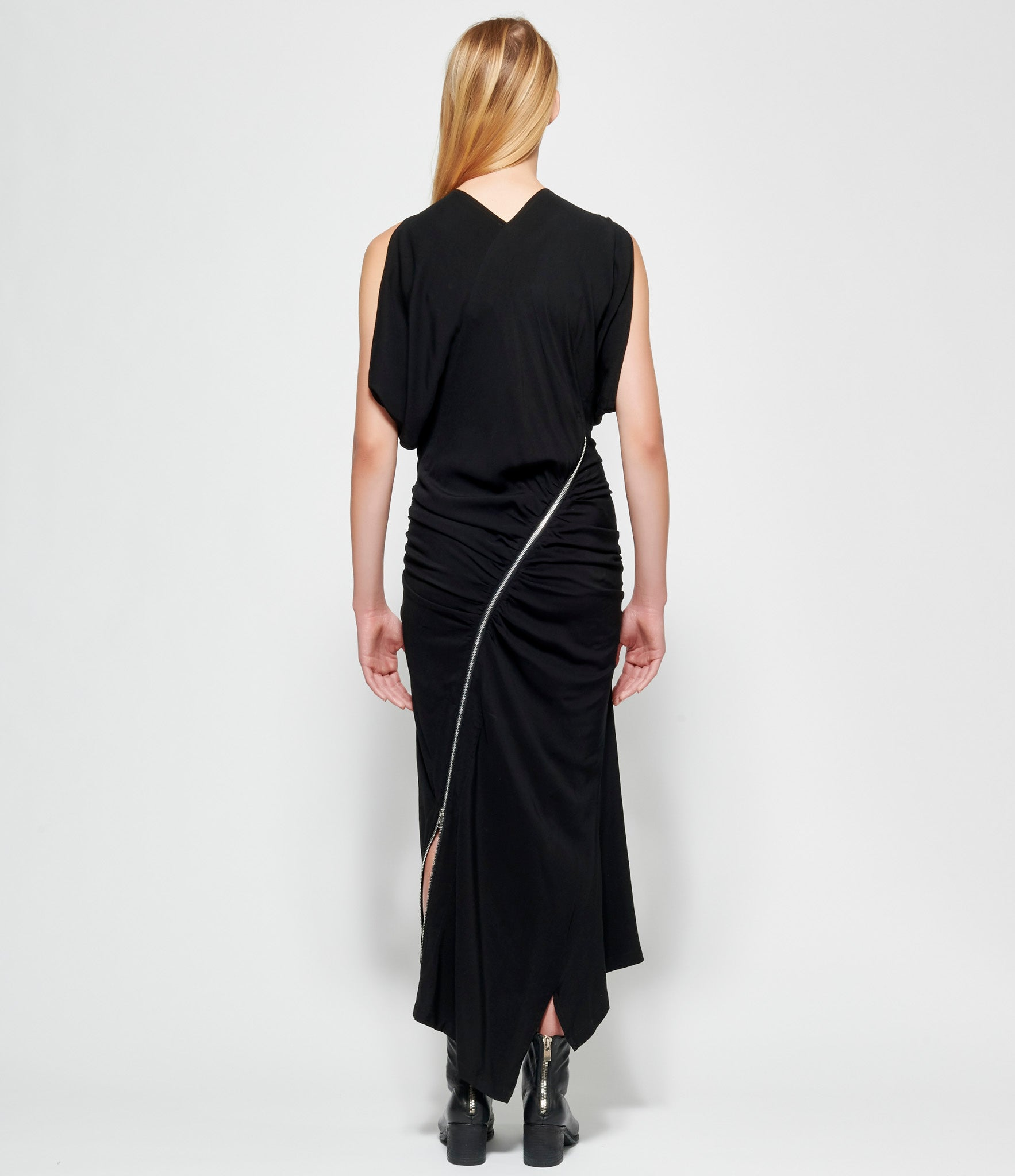 Limi Feu Zip Gather Dress