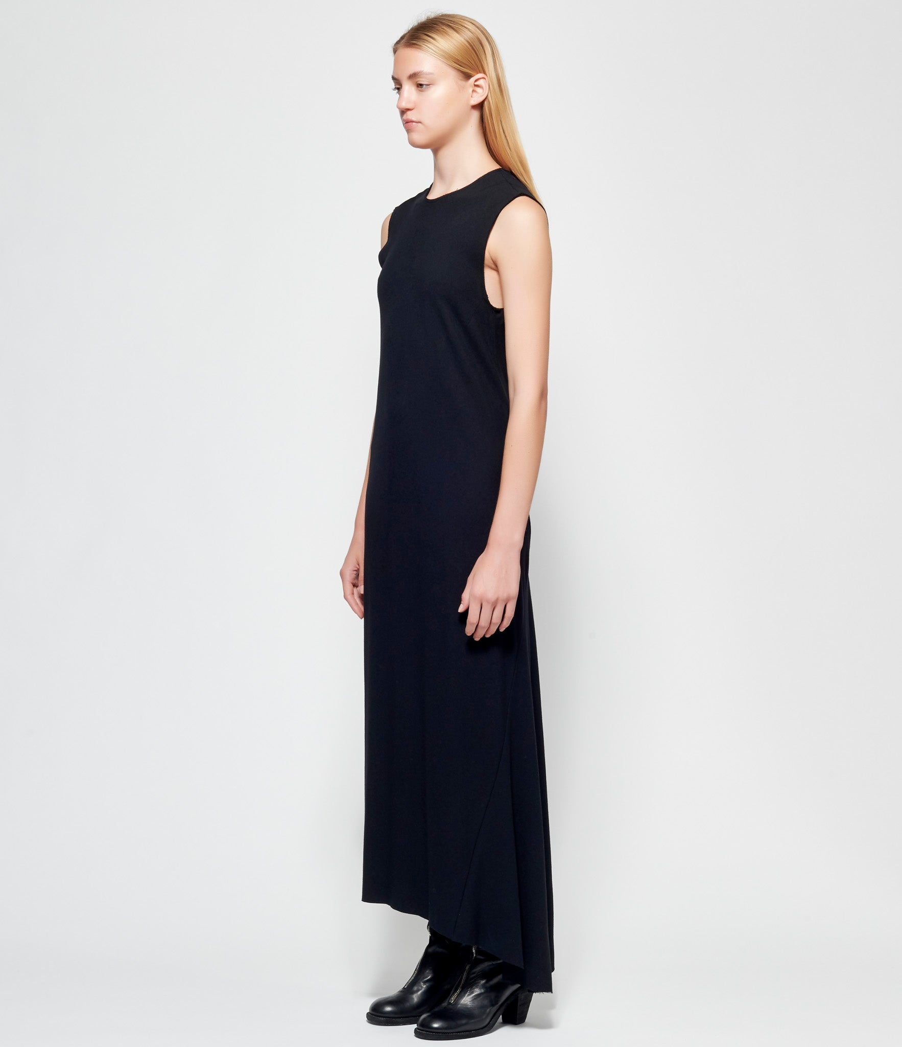 Ann Demeulemeester Jasmin Black Dress