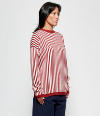 Sara Lanzi Striped Jacquard Jumper