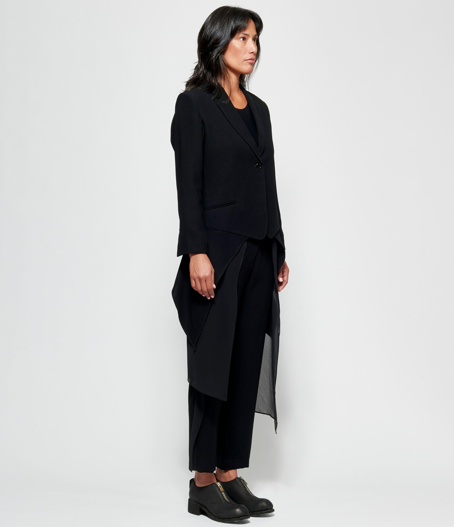 Replika Draped Crepe Blazer