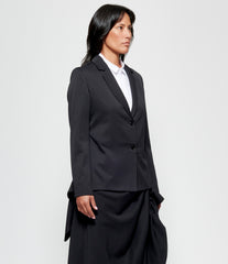 Replika Wool Gabardine Tailcoat Jacket