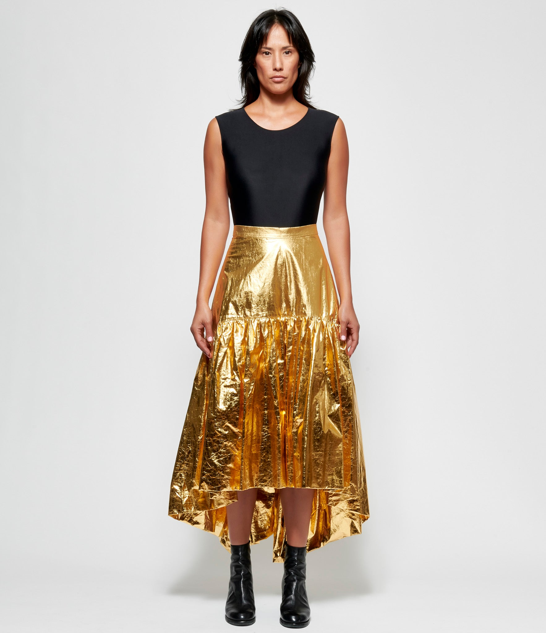 Replika Gold Foil Balloon Skirt