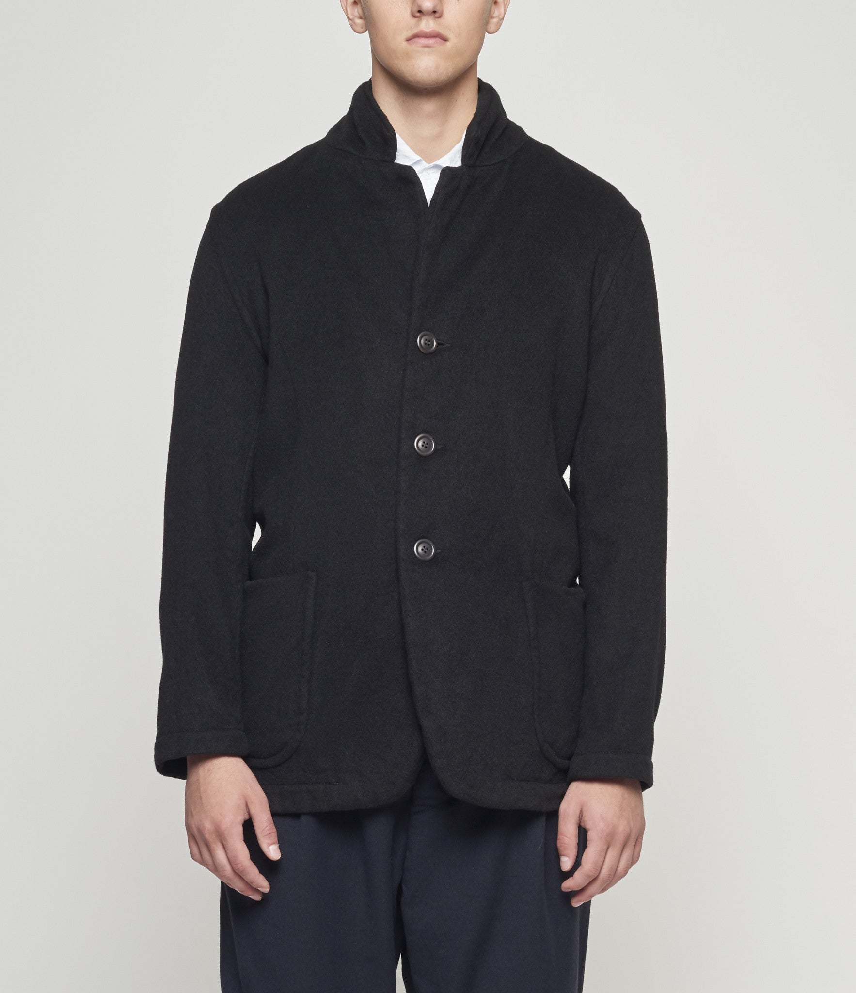 Casey Casey Cashmere Patch Pocket Jacket