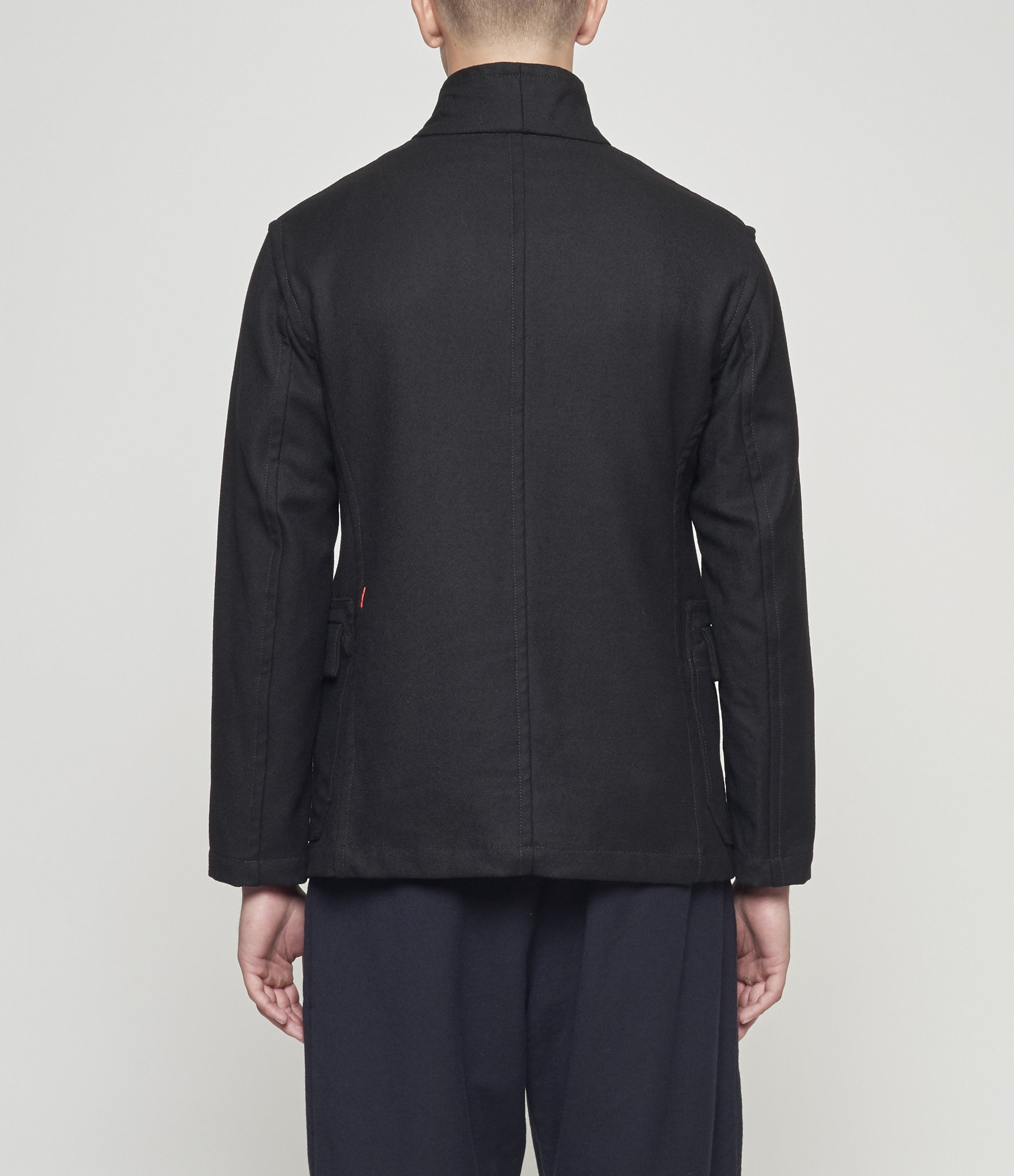 Casey Casey Heavy Wool Stand Collar Jacket