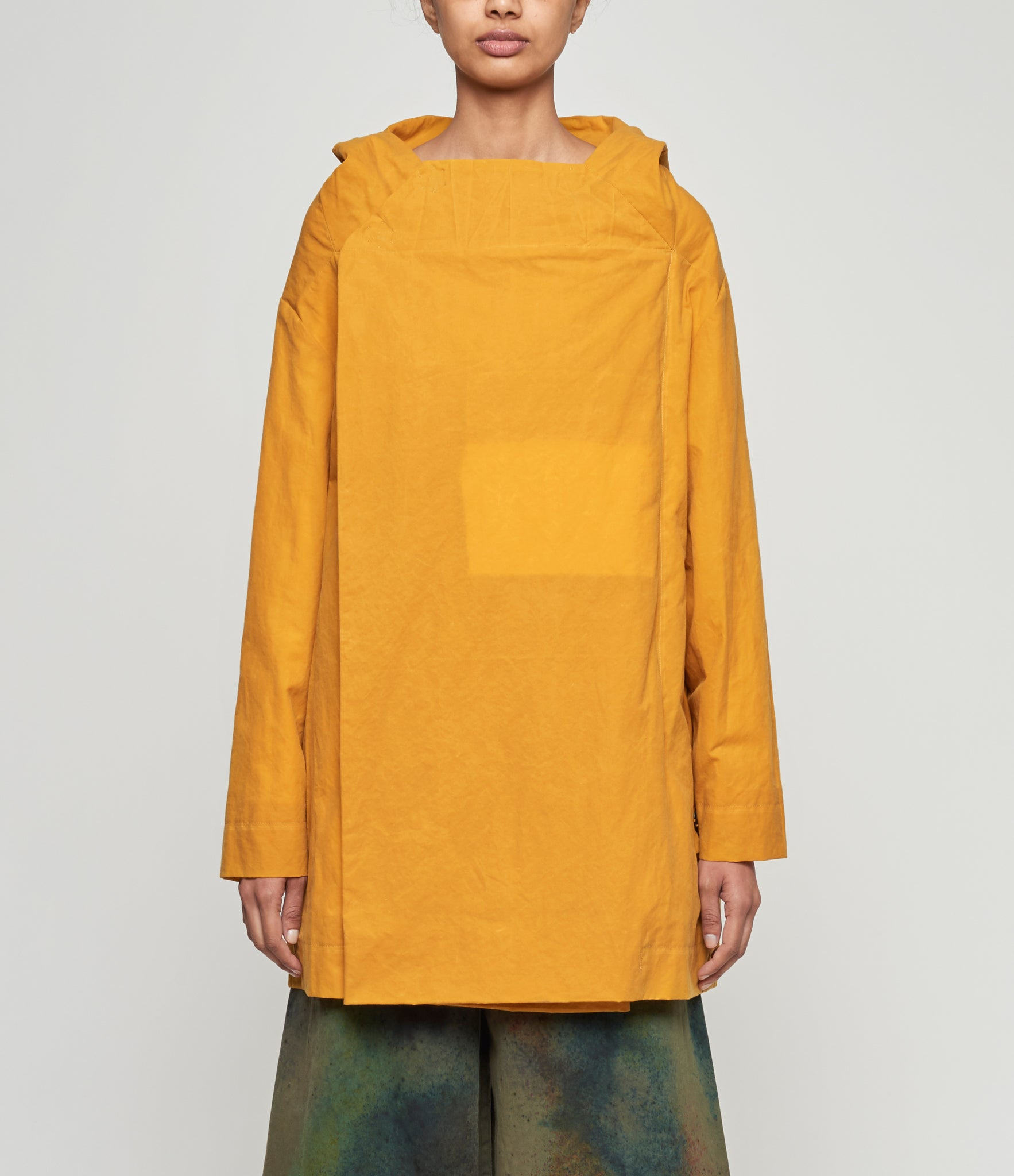 Toogood The Beekeeper Mustard Waxed Jacket