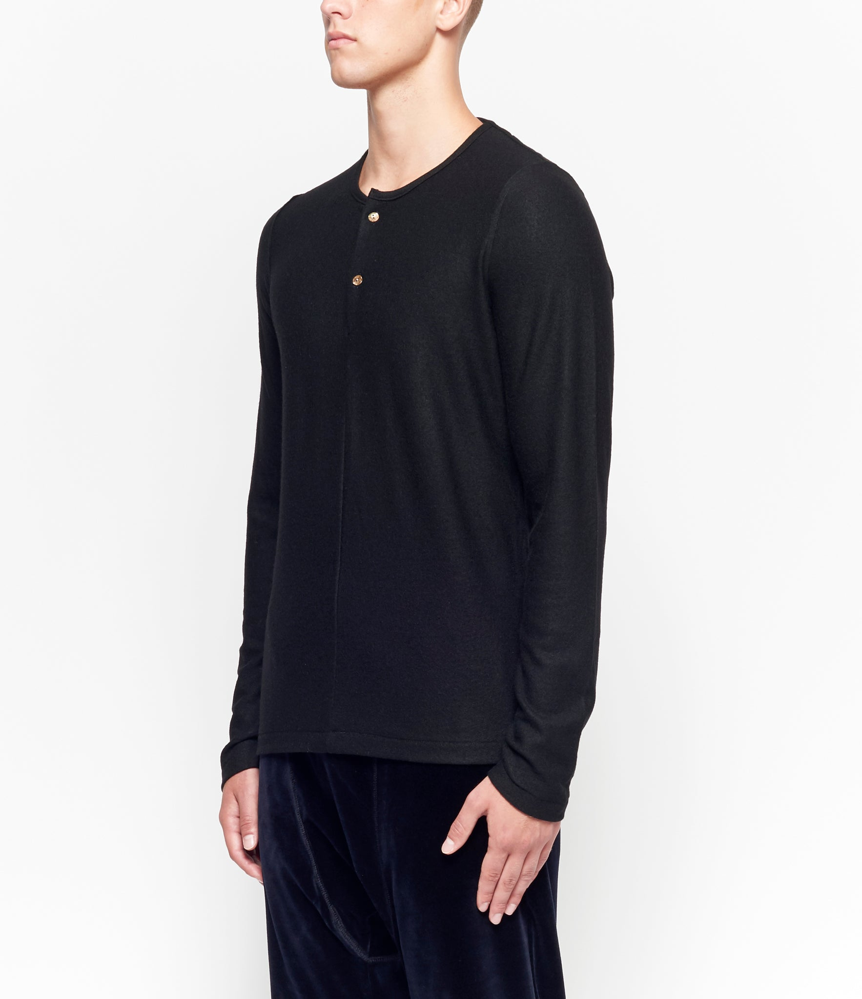 Individual Sentiments Long Sleeve Henley