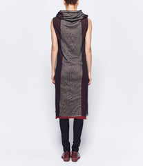 m.a+ Front Open Hooded Dress