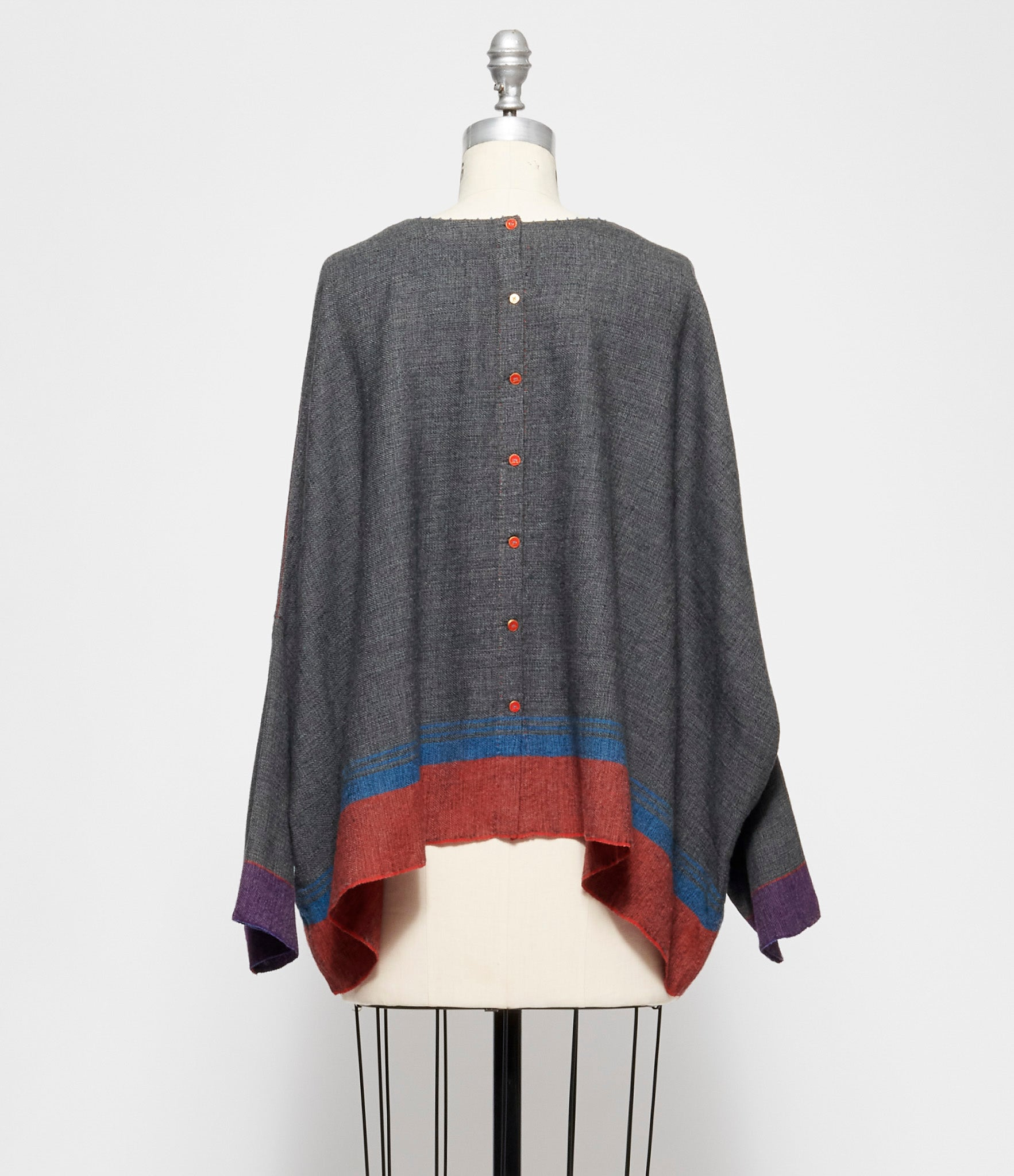 Pero Wool Flannel Oversized Top