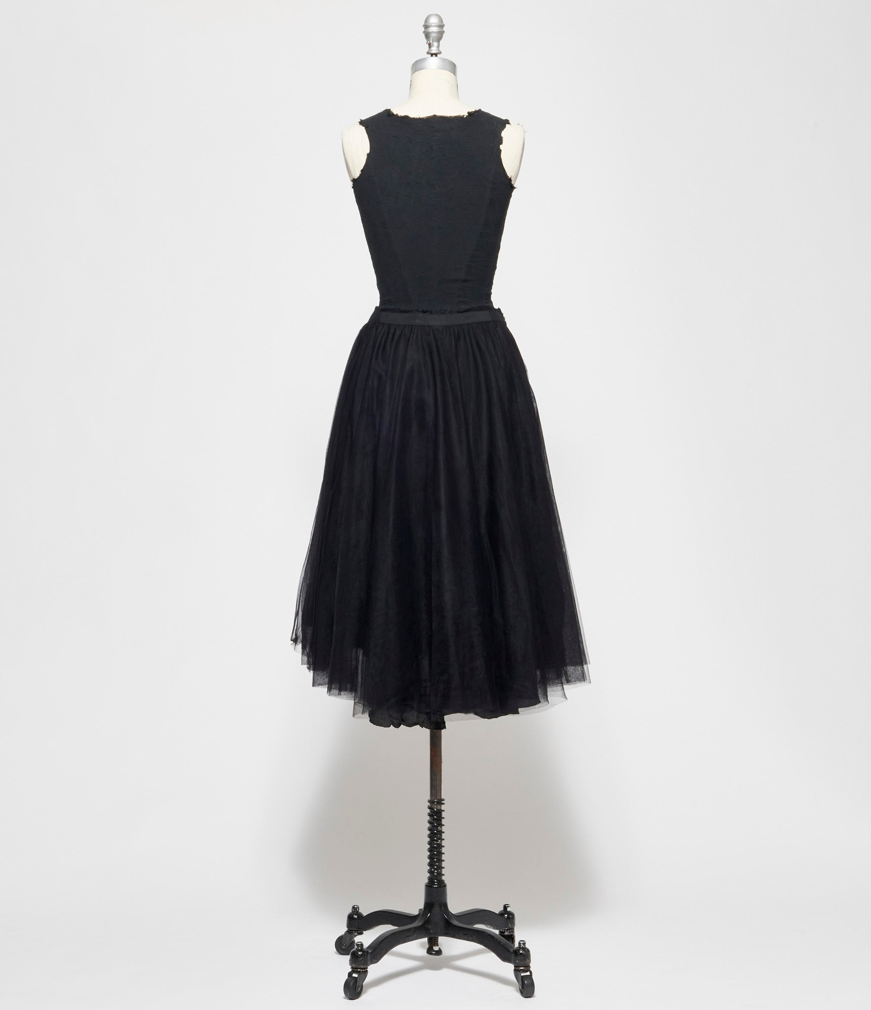 Marc Le Bihan 3 Layered Ovoid Tulle Skirt