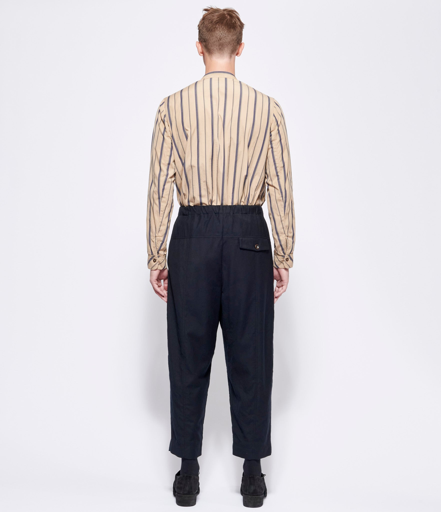 'T Ensemble Wool Flannel Pull-On Pants