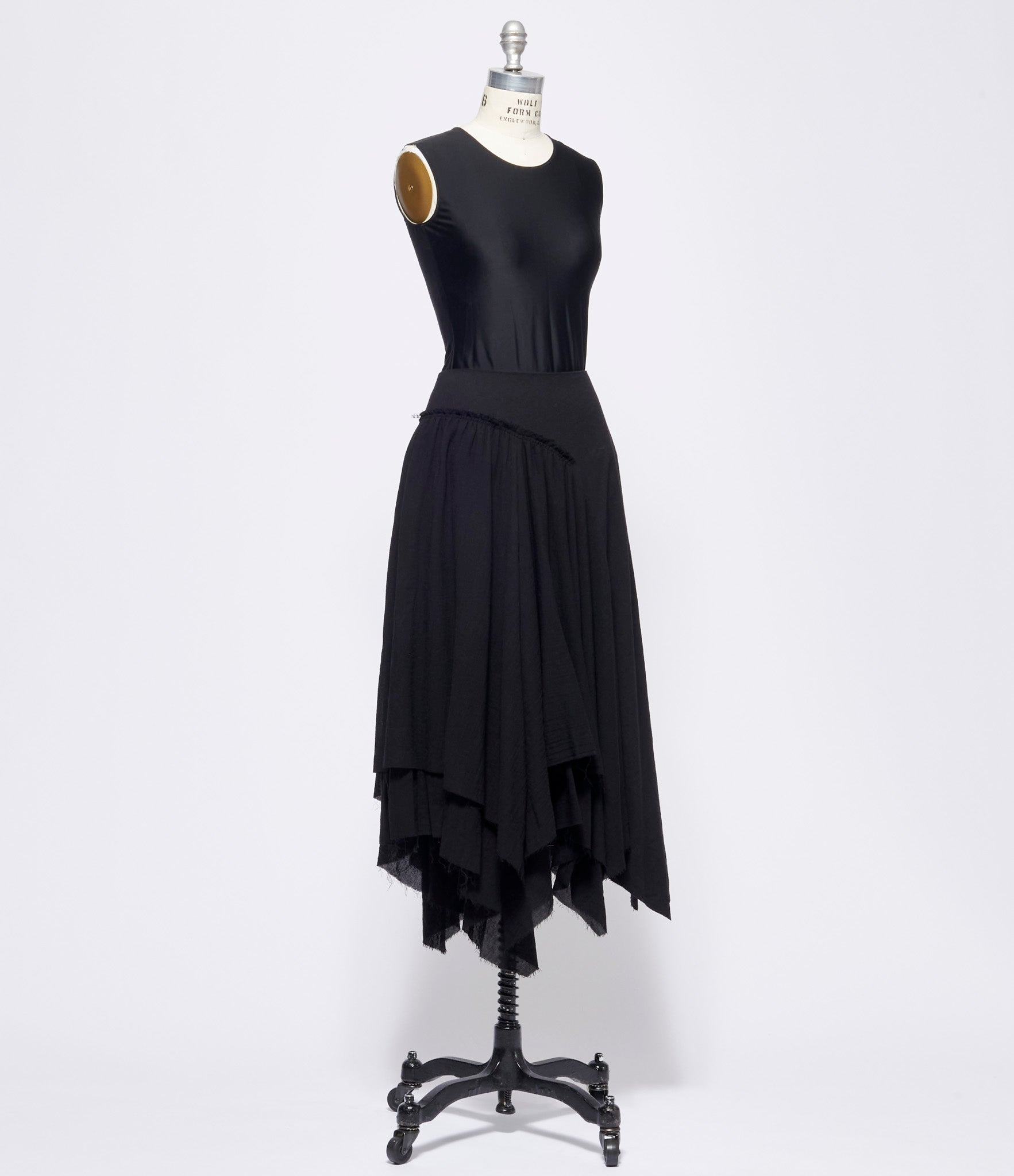 Forme d'Expression Gathered Asymmetric Skirt