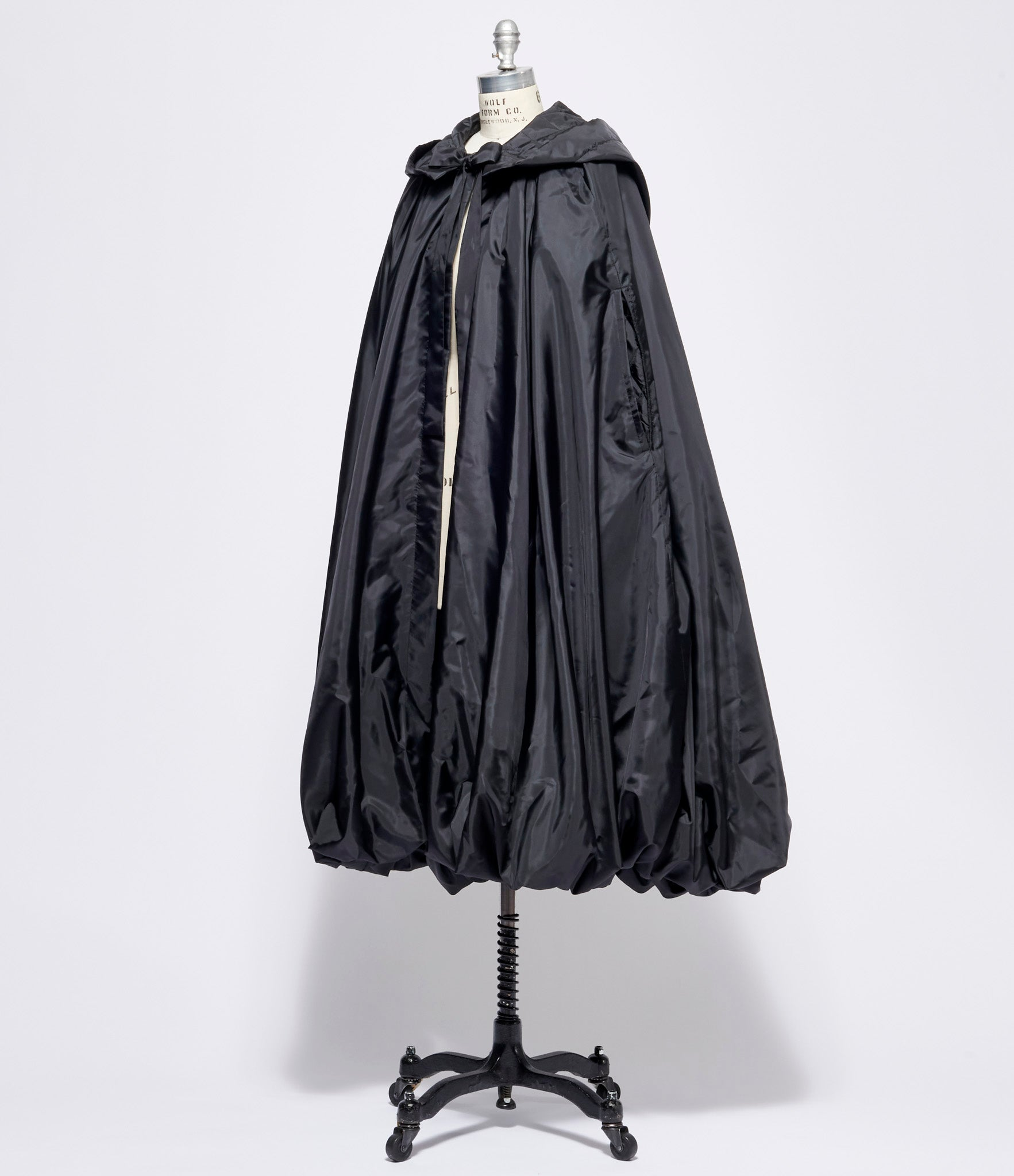 Comme Des Garcons Polyester Taffeta Quilted Coat