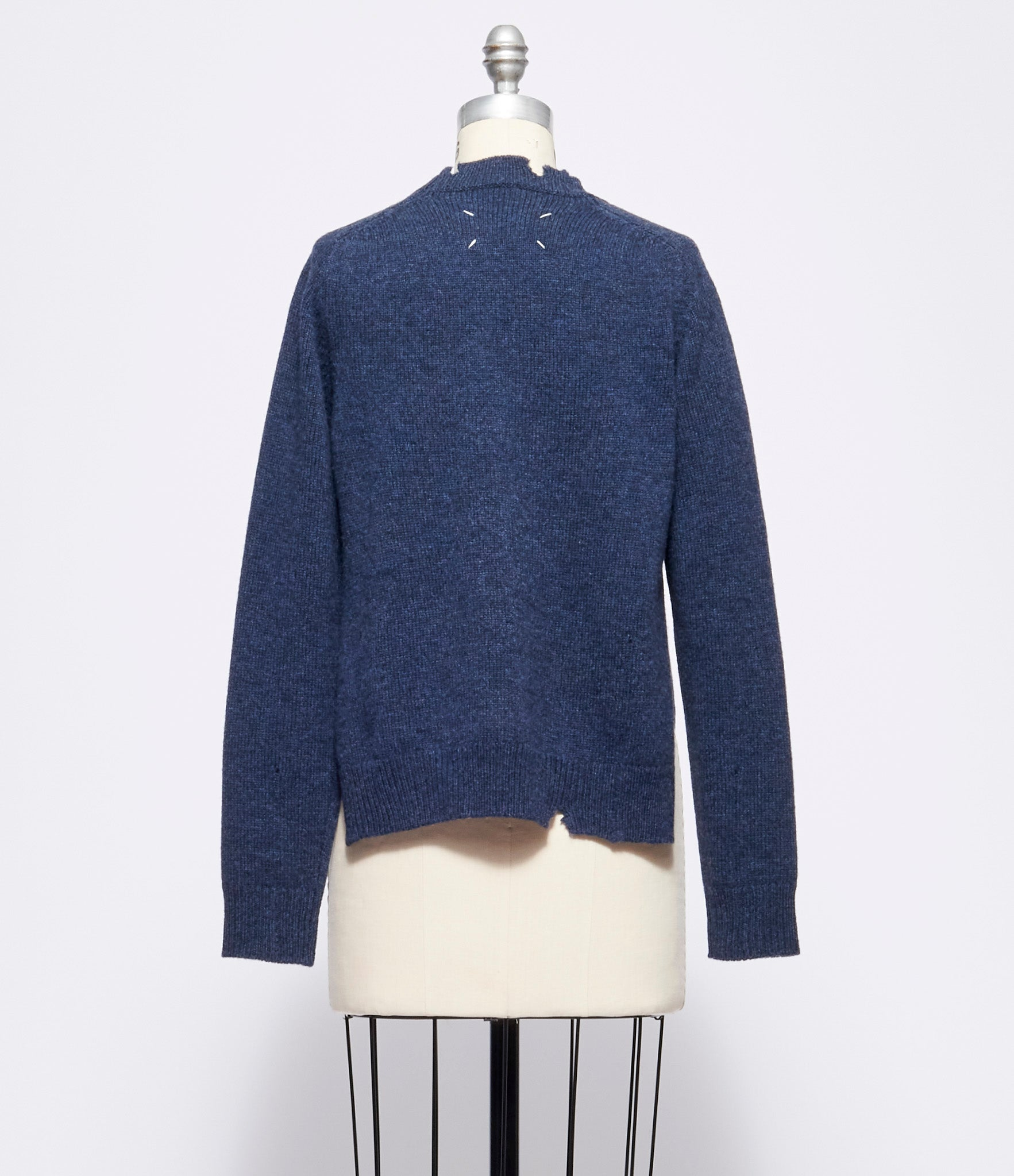 Maison Margiela Holly Trinity Soft Shetland Sweater