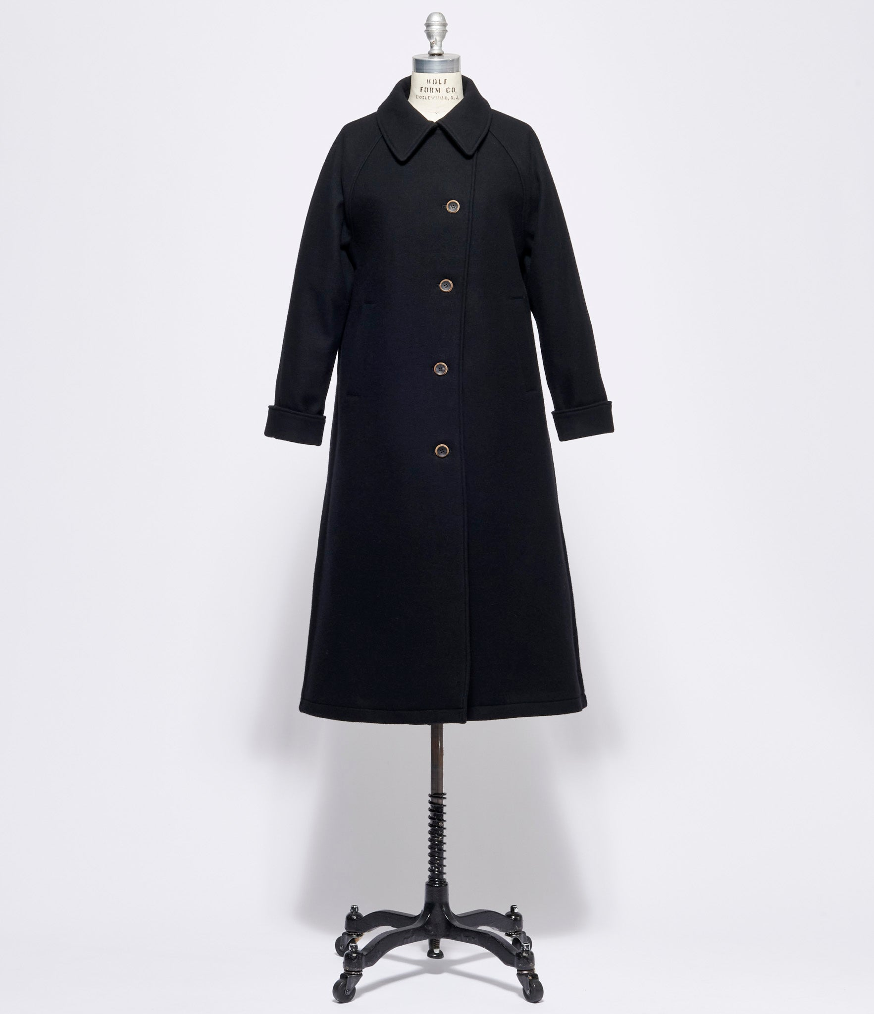 Individual Sentiments Soft Wool Melton Coat