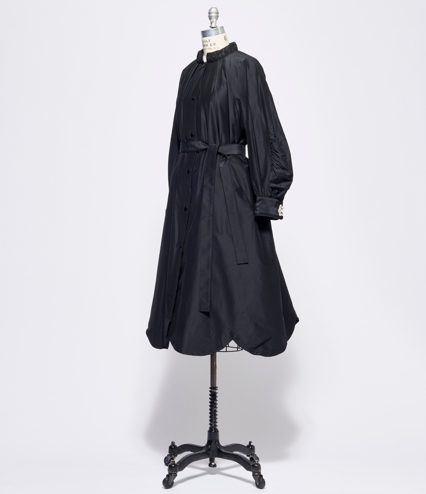 Leur Logette Airy Taffeta Quilted Coat