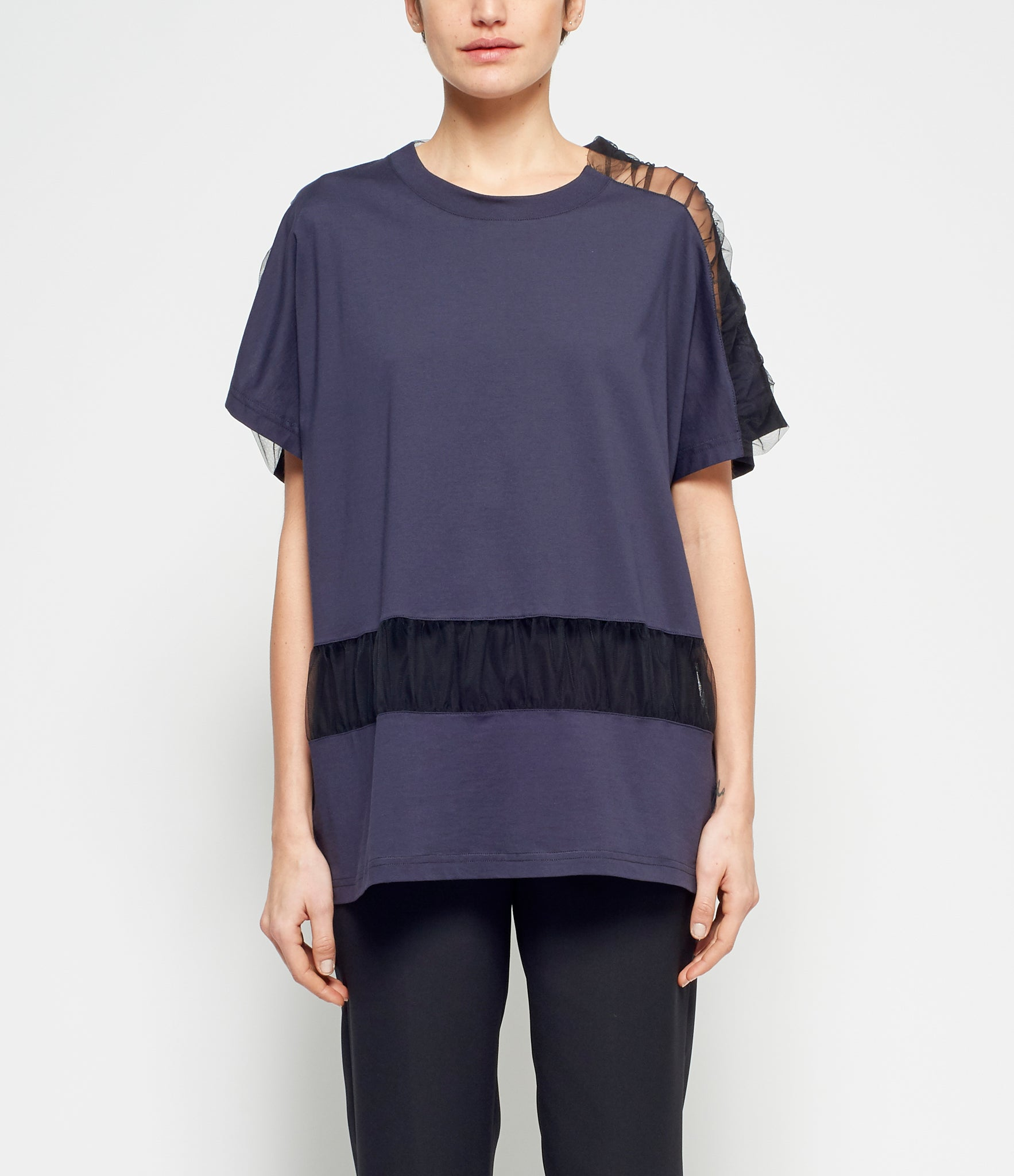 Maison Margiela Ruched Panel Top