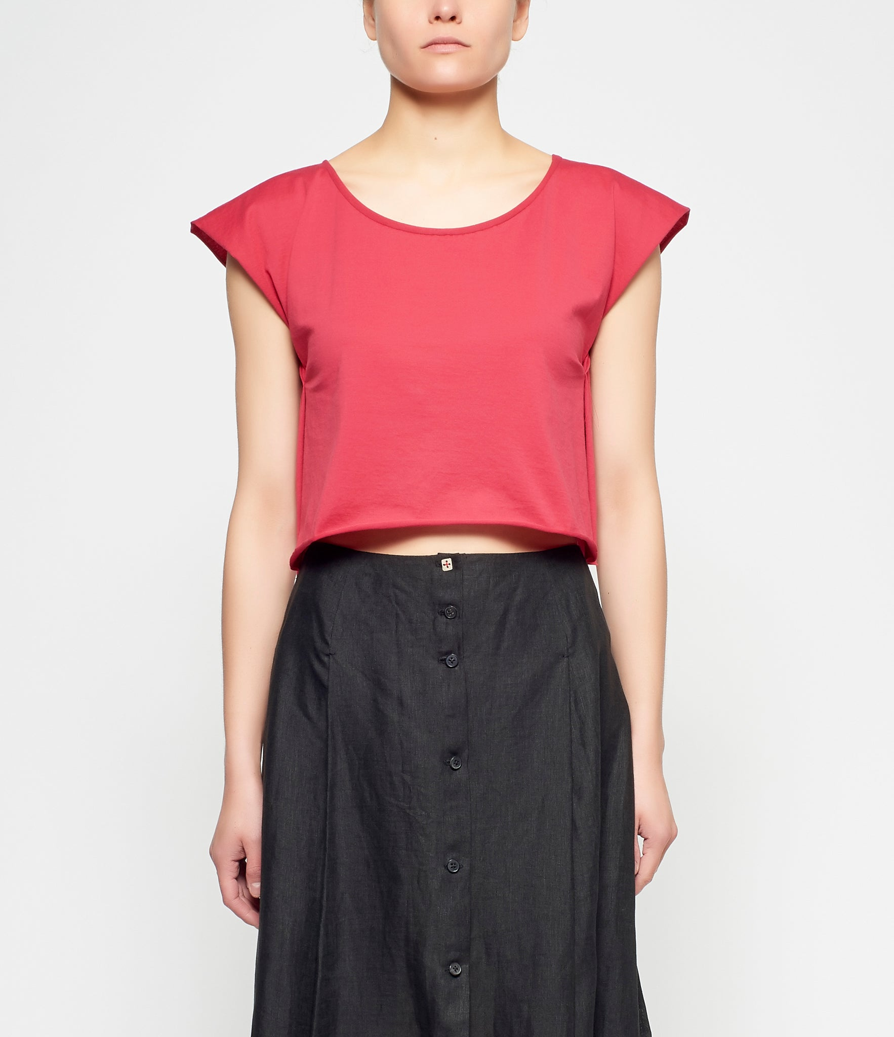m.a+ Cropped Cotton Top