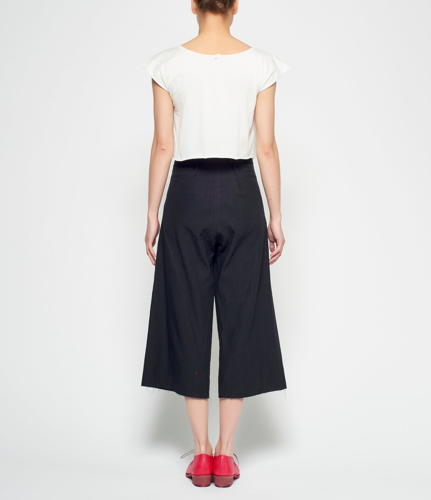 m.a+ Pleated Cropped Pants