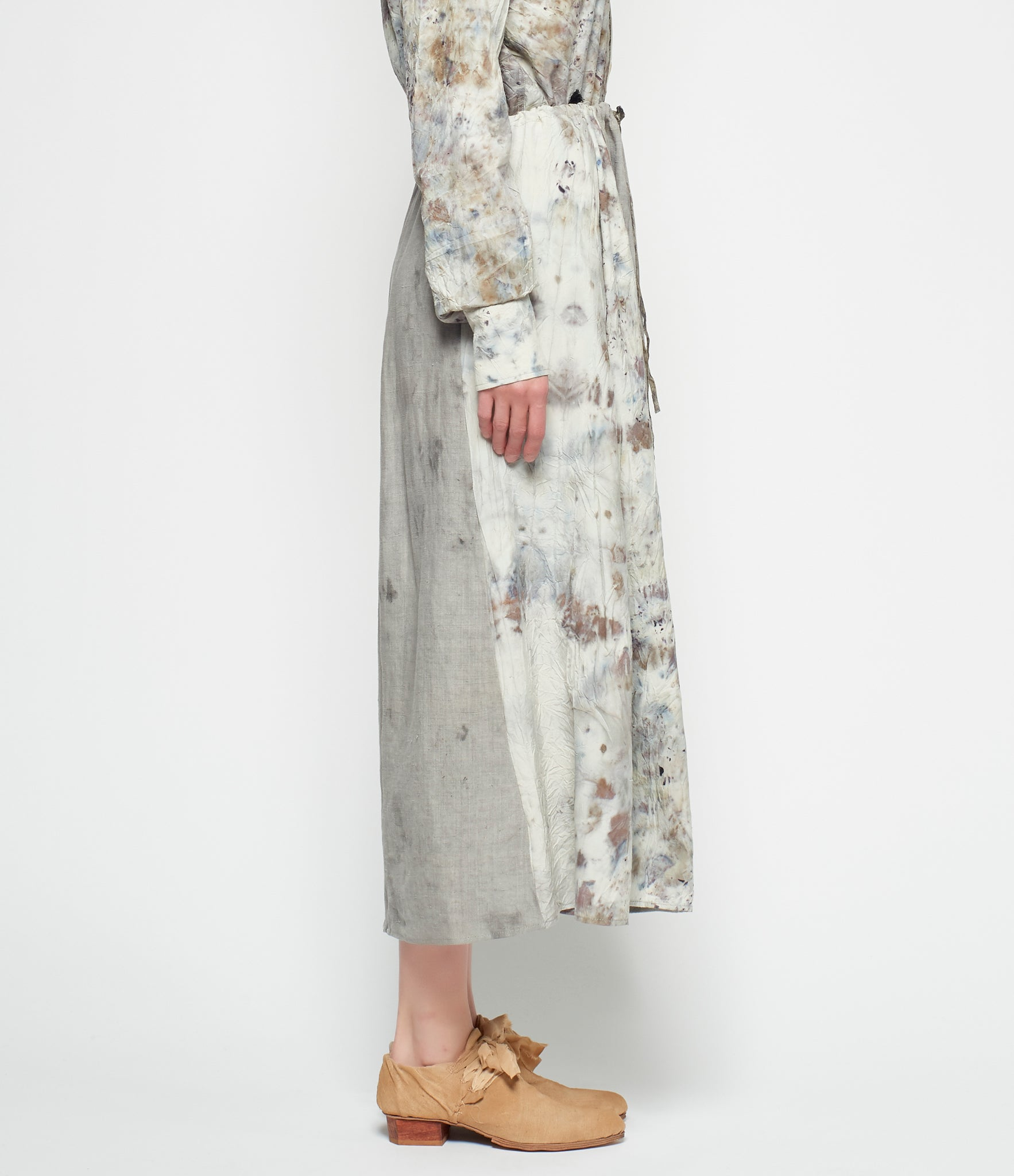 Mimi Prober Linen and Silk Slip Skirt