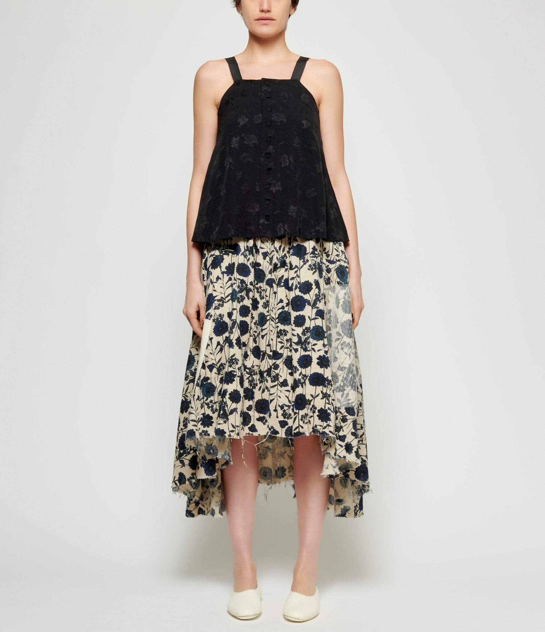 A Tentative Atelier Galsworthy Skirt